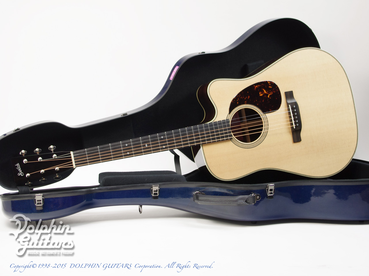 SWITCH: SCD-2HC (Sitka Spruce & Indian Rosewood) (0)