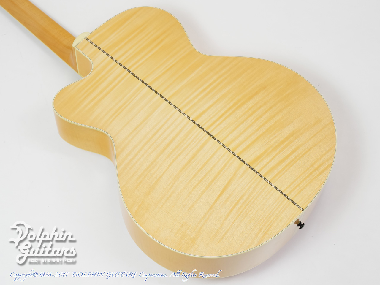 COLLINGS: SJ A Cutaway (Adirondack & Flamed Maple) (3)