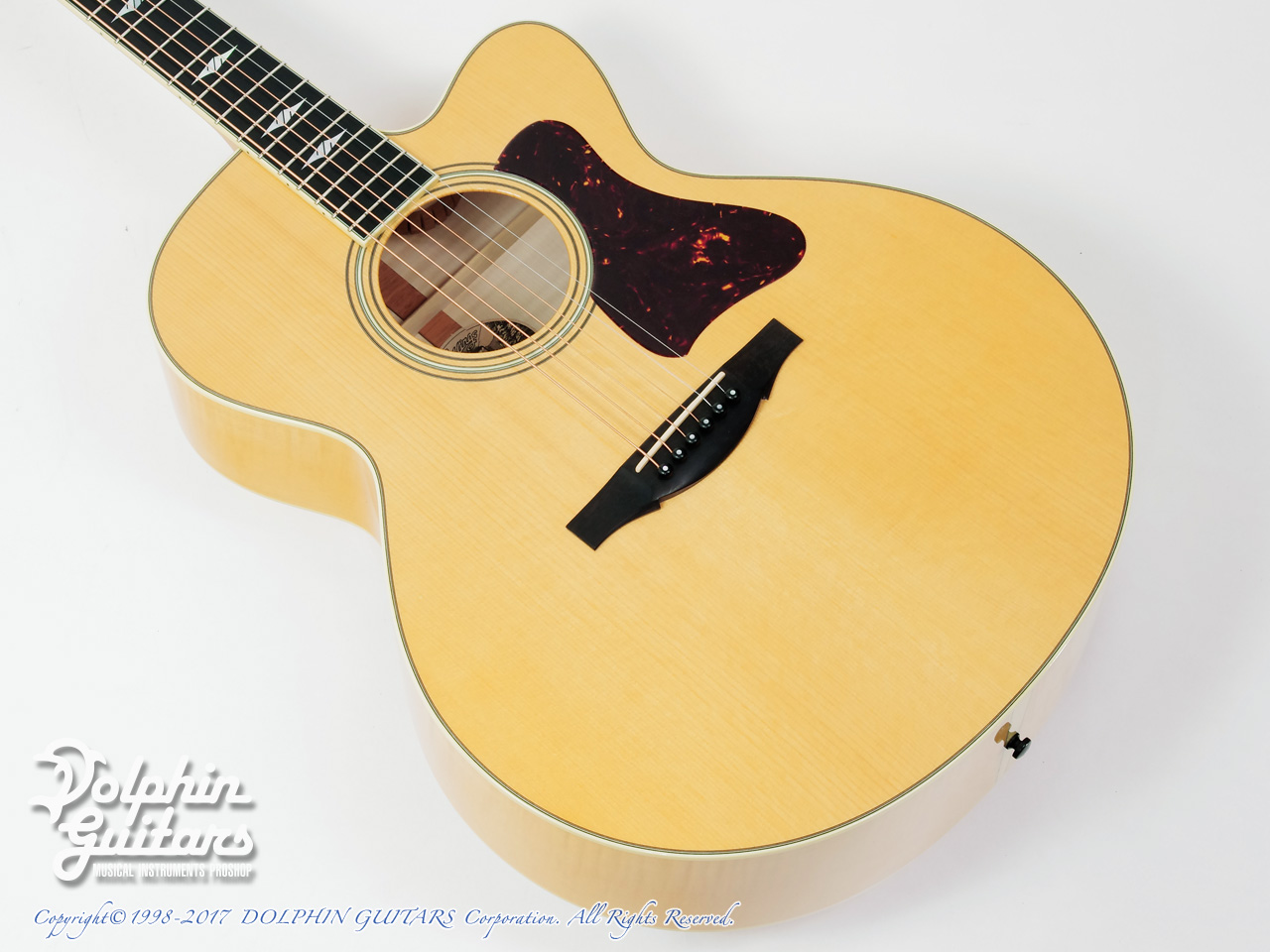 COLLINGS: SJ A Cutaway (Adirondack & Flamed Maple) (1)
