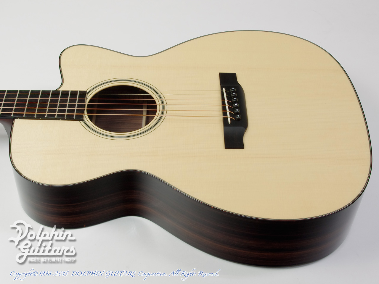 COLLINGS: OM-1E Cutaway (Indian Rosewood) (2)
