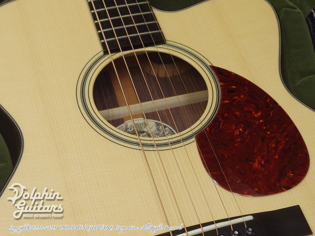 COLLINGS: OM-1E Cutaway (Indian Rosewood) (9)