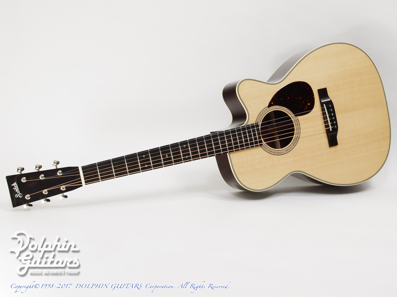 SWITCH: SCOM-2HC (Sitka Spruce & Indian Rosewood) (0)