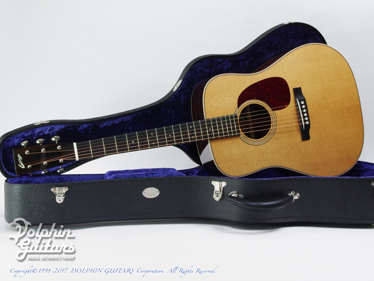COLLINGS: D-2H Traditional (Torrefied Sitka Spruce) (0)