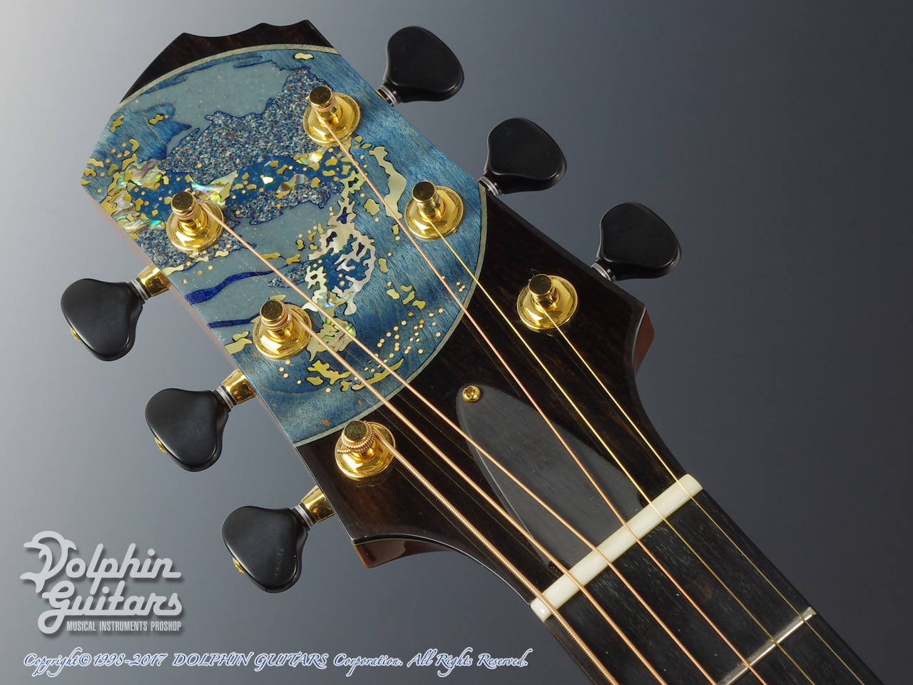 Kathy Wingert: Model E Cocobolo The Earth at Night (5)
