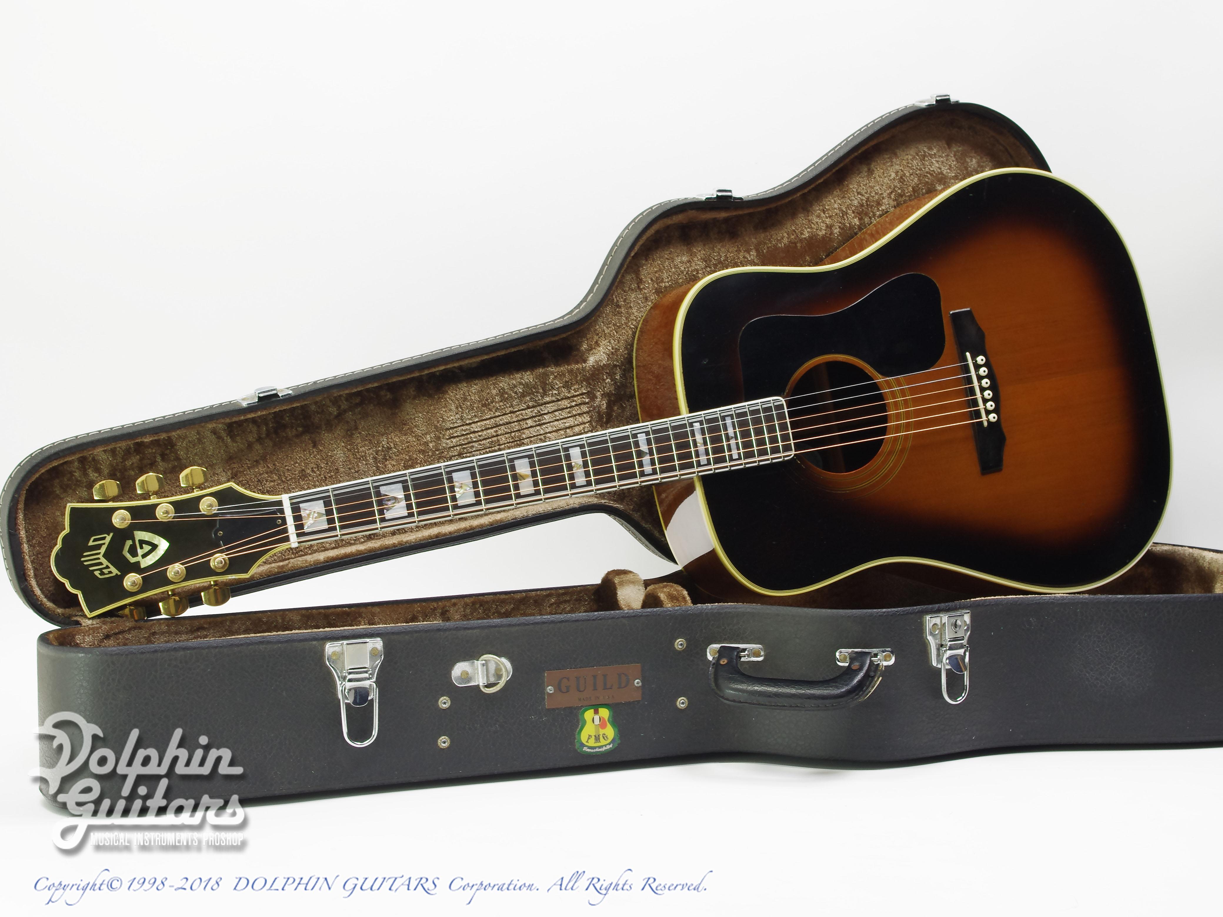GUILD:D-55 SB [7711eb]|ドルフィンギターズ