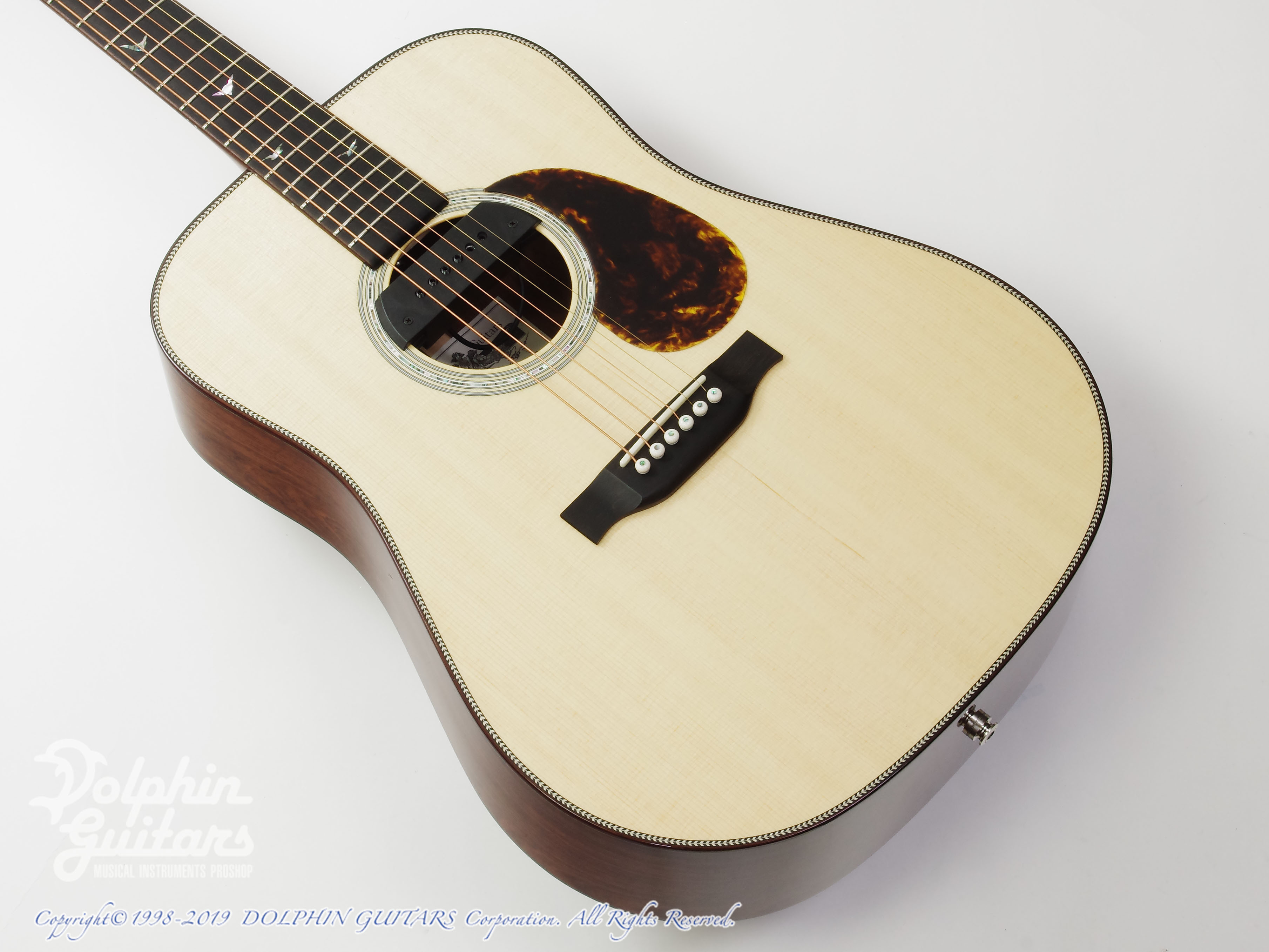 Greven Guitars Japan: Oshio-D HR (Honduras Rosewood) w/RAPTOR SYSTEM by TRIAL  (1)