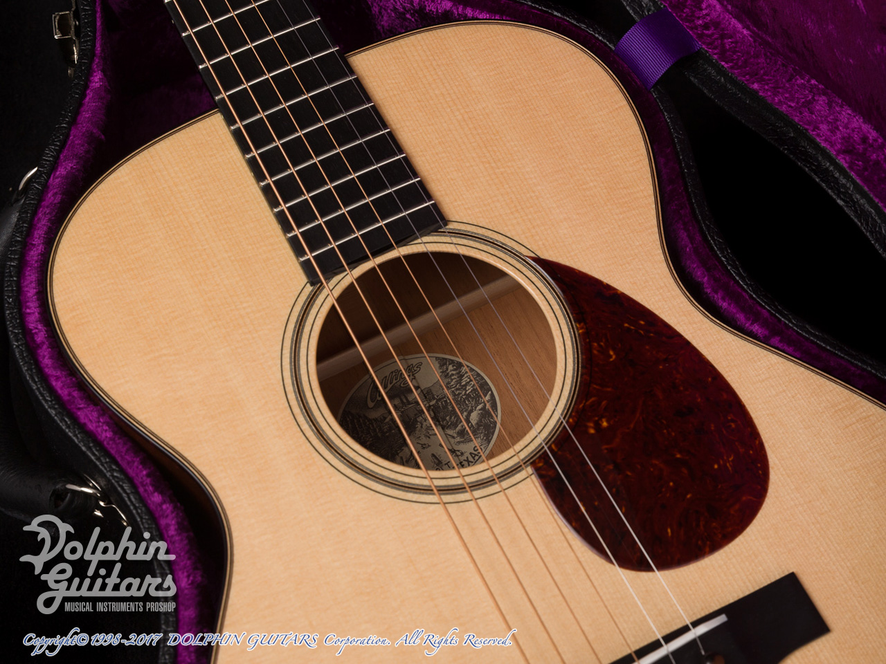 COLLINGS: 0-1 Traditional (Torrefied Sitka Spruce) (4)