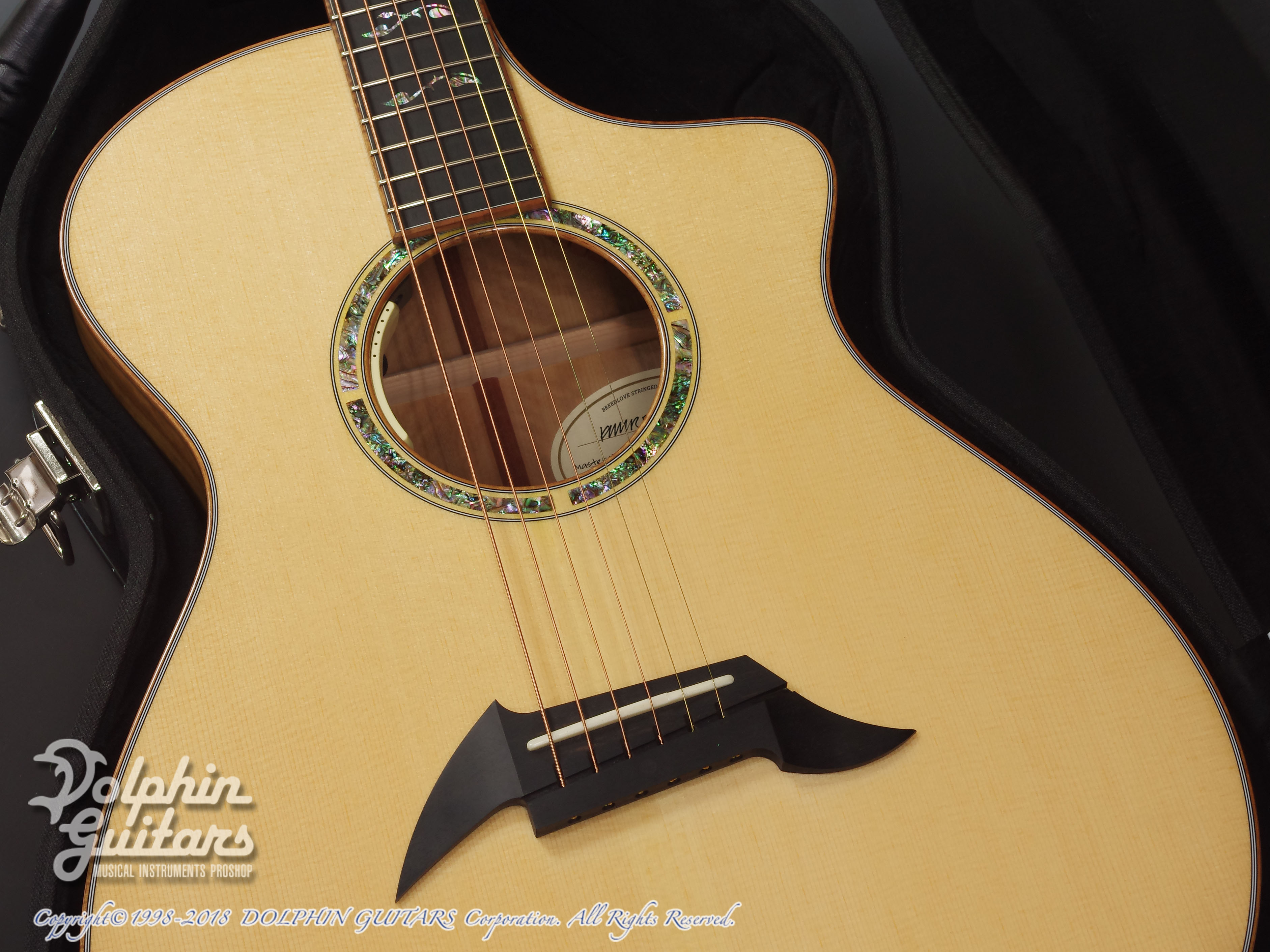 Breedlove: Master Class C26CE (Figured Mytlewood) (7)