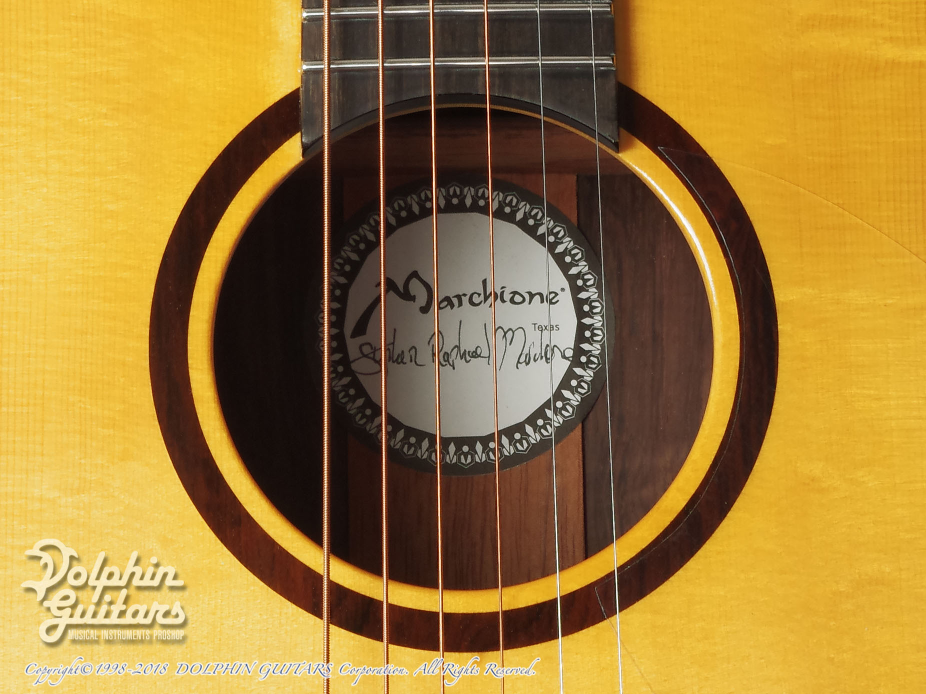 Marchione Guitars: OMC Brazilian Rosewood (9)