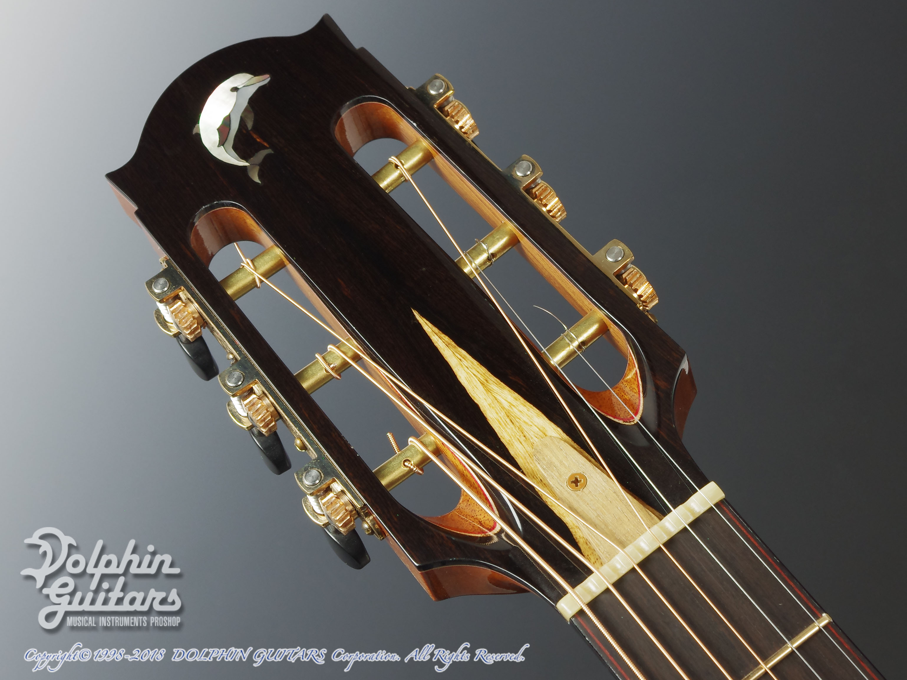 WATER ROAD GUITARS: Couchi (African Blackwood) (6)