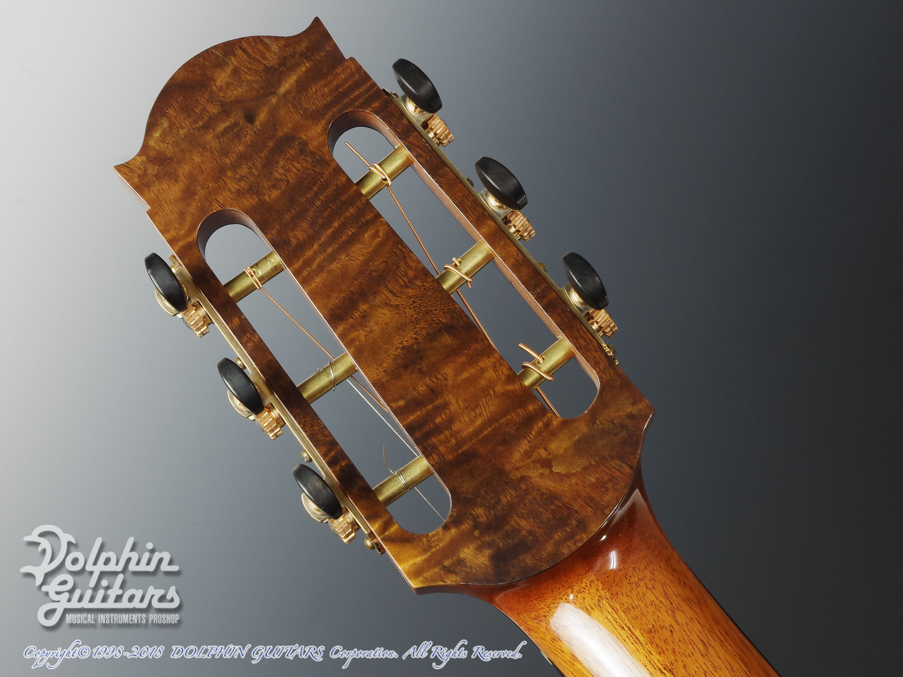 WATER ROAD GUITARS: Couchi (African Blackwood) (7)