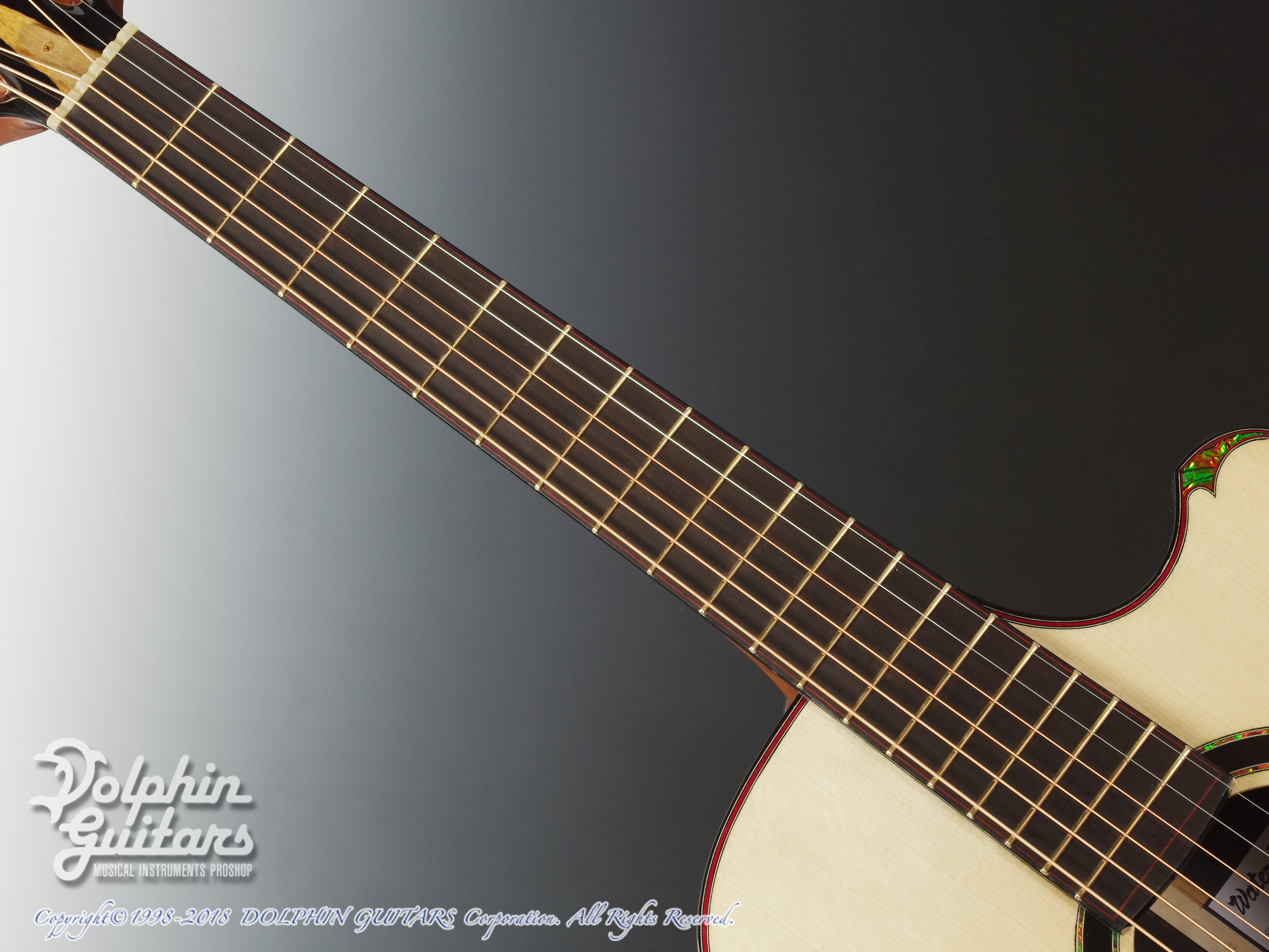 WATER ROAD GUITARS: Couchi (African Blackwood) (4)