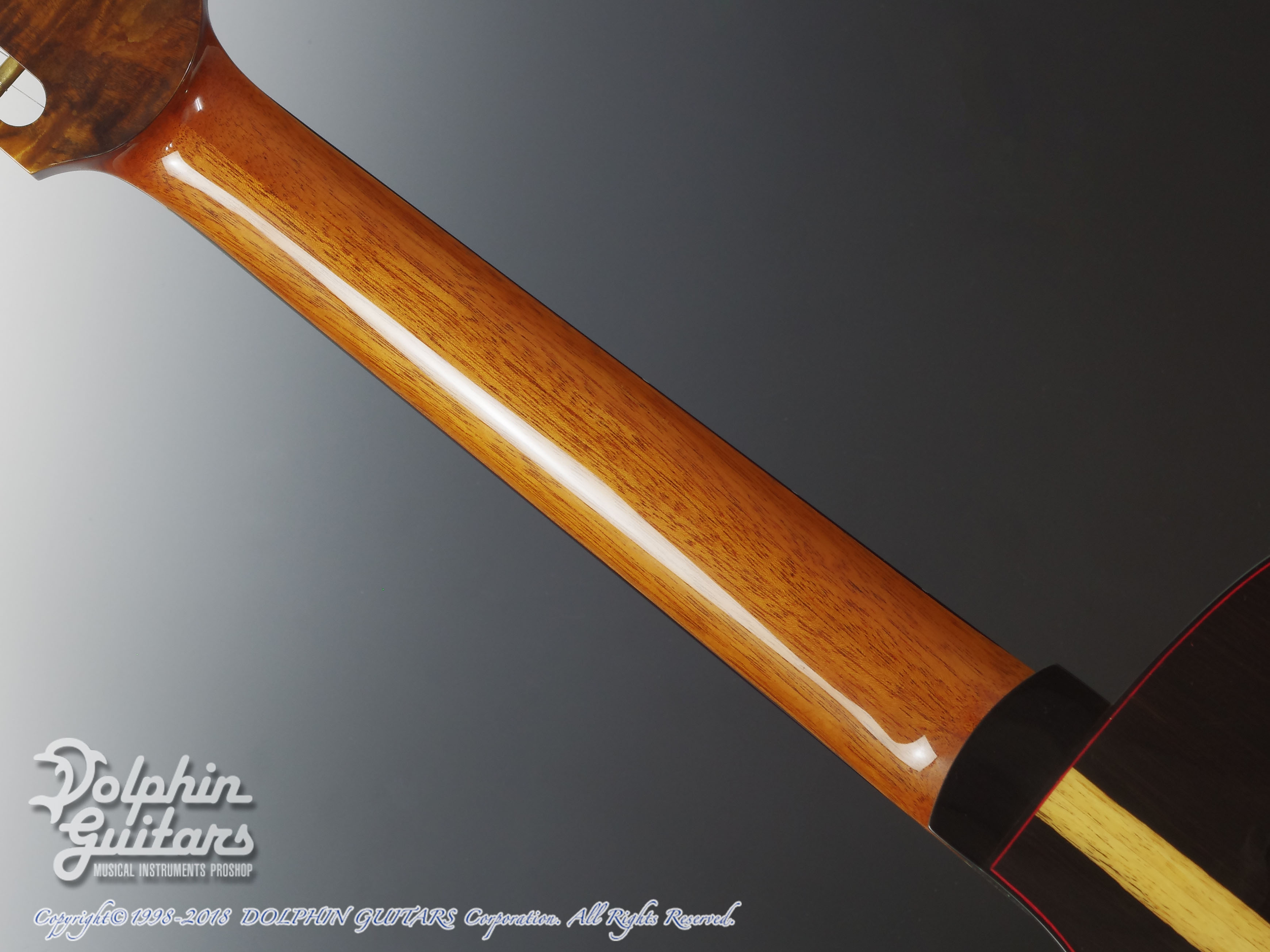 WATER ROAD GUITARS: Couchi (African Blackwood) (5)