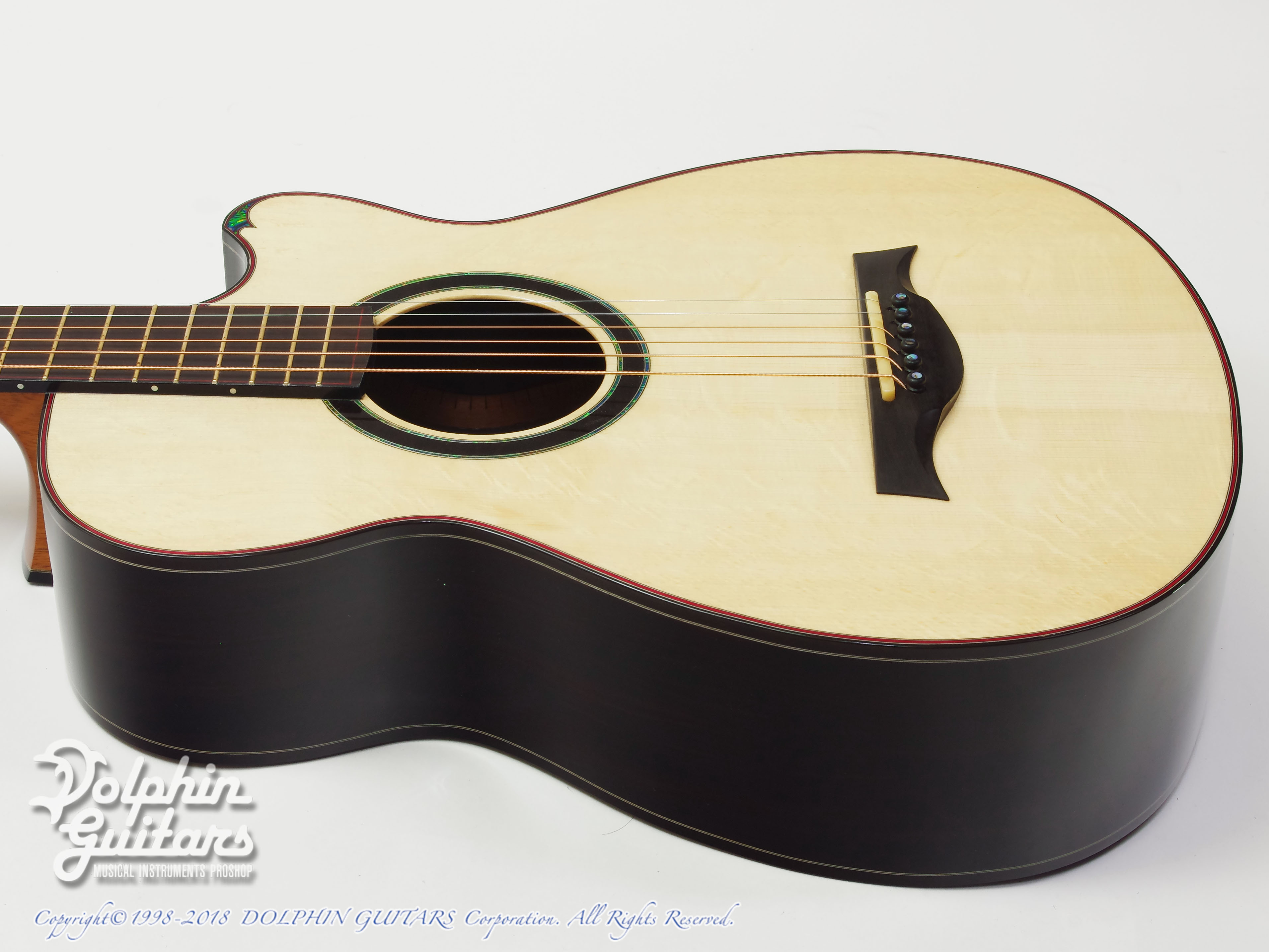 WATER ROAD GUITARS: Couchi (African Blackwood) (2)