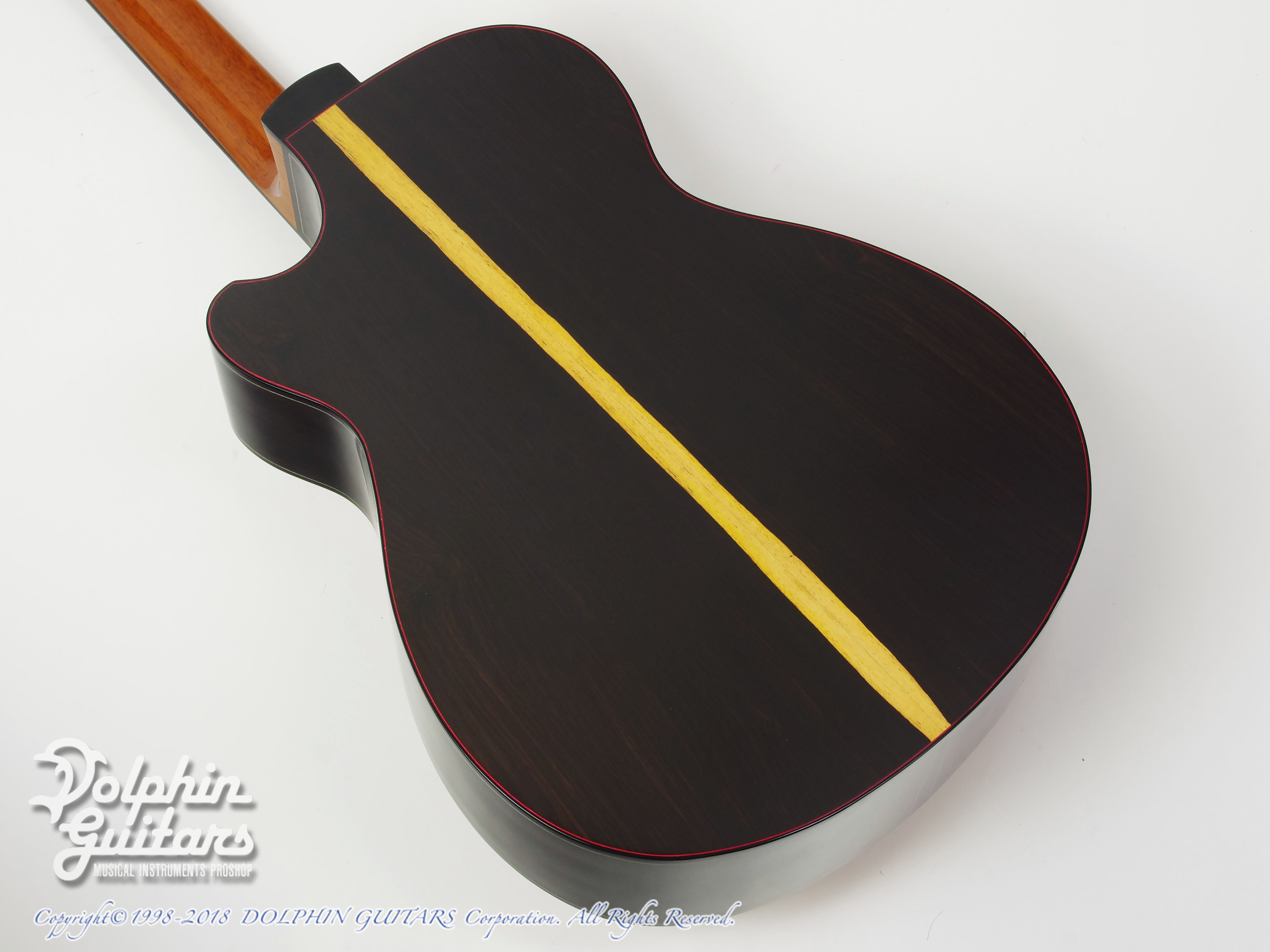 water road guitars couchi african blackwood 7815eb ドルフィン