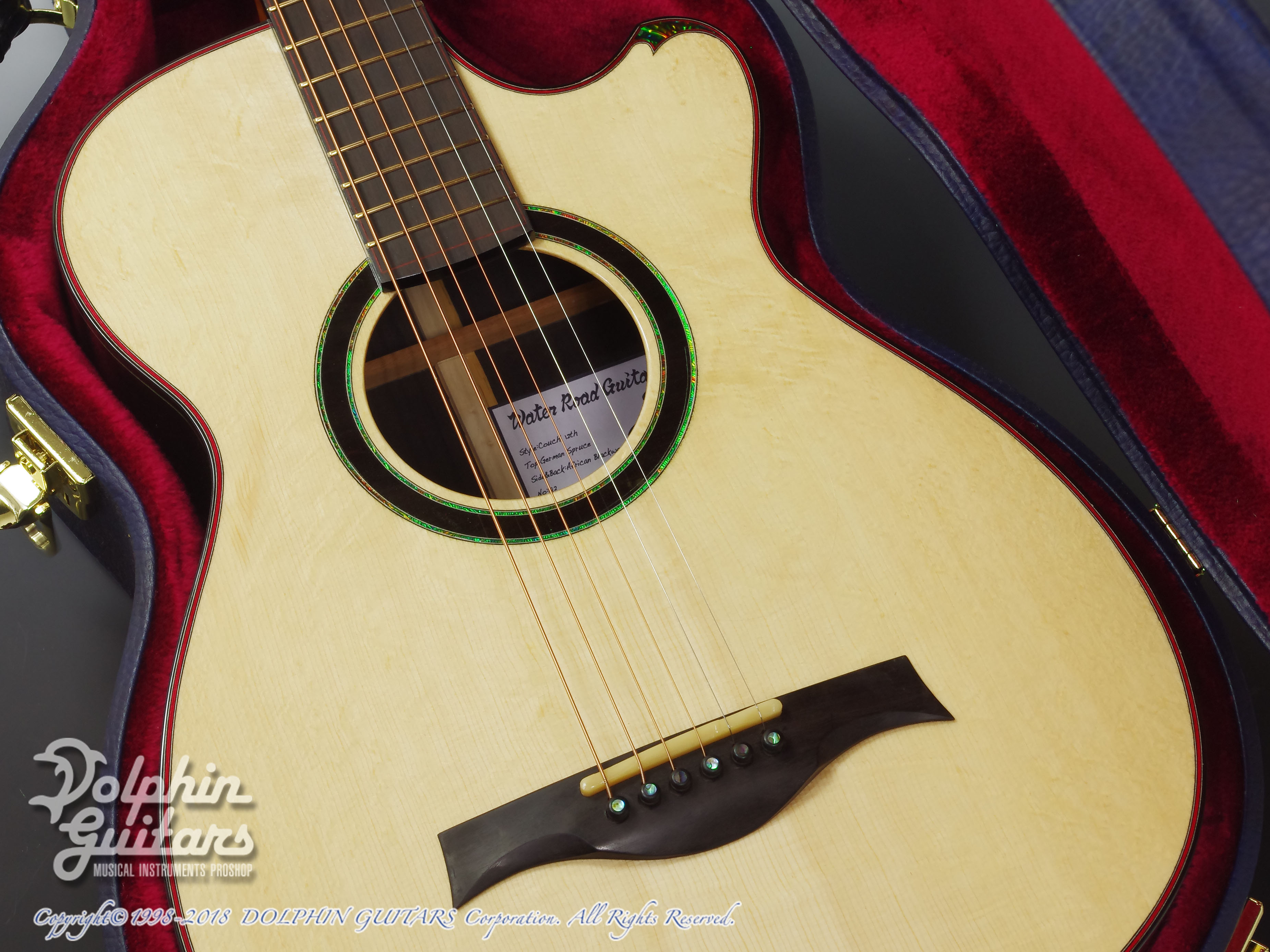 WATER ROAD GUITARS: Couchi (African Blackwood) (8)