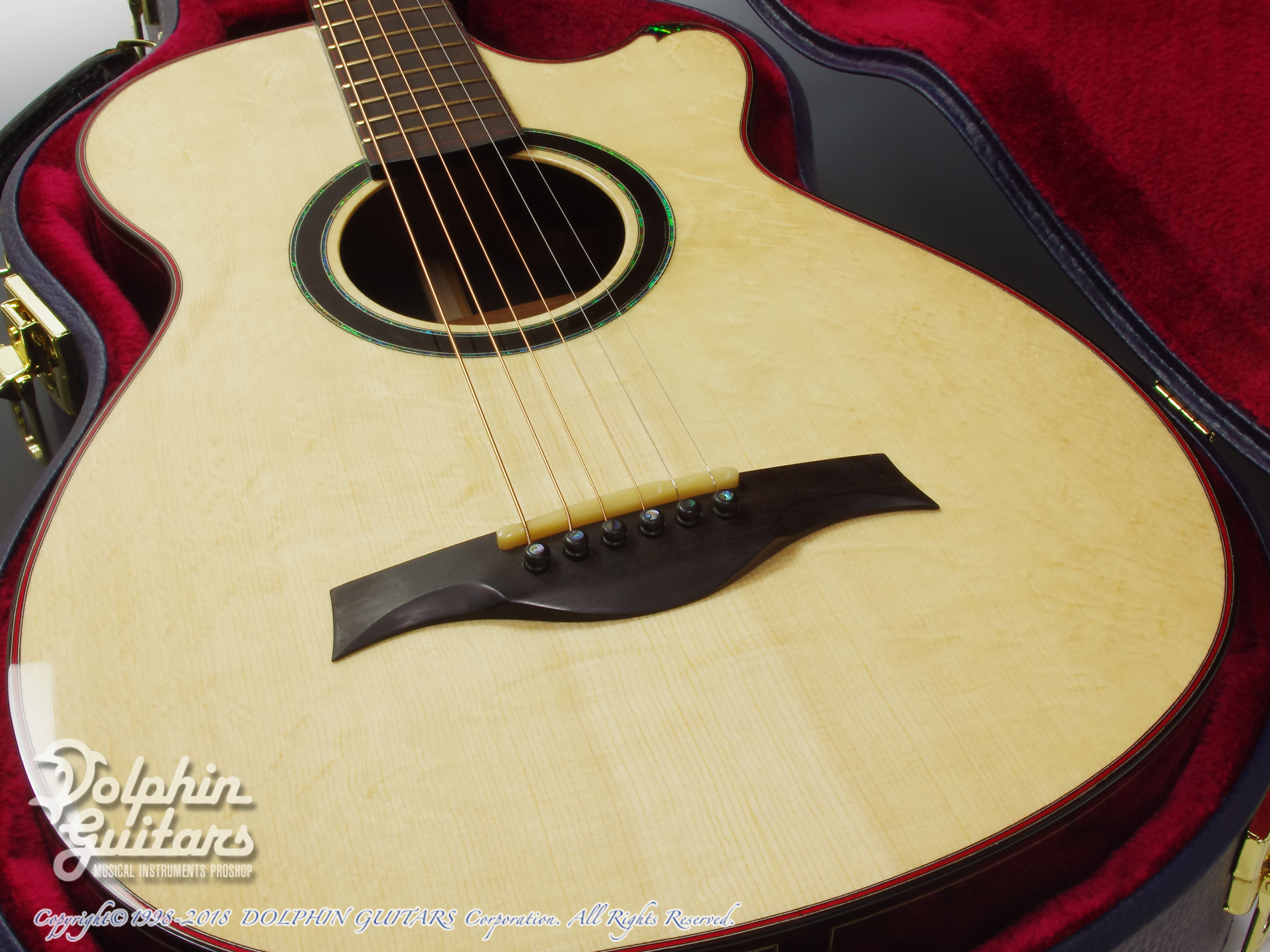 WATER ROAD GUITARS: Couchi (African Blackwood) (9)