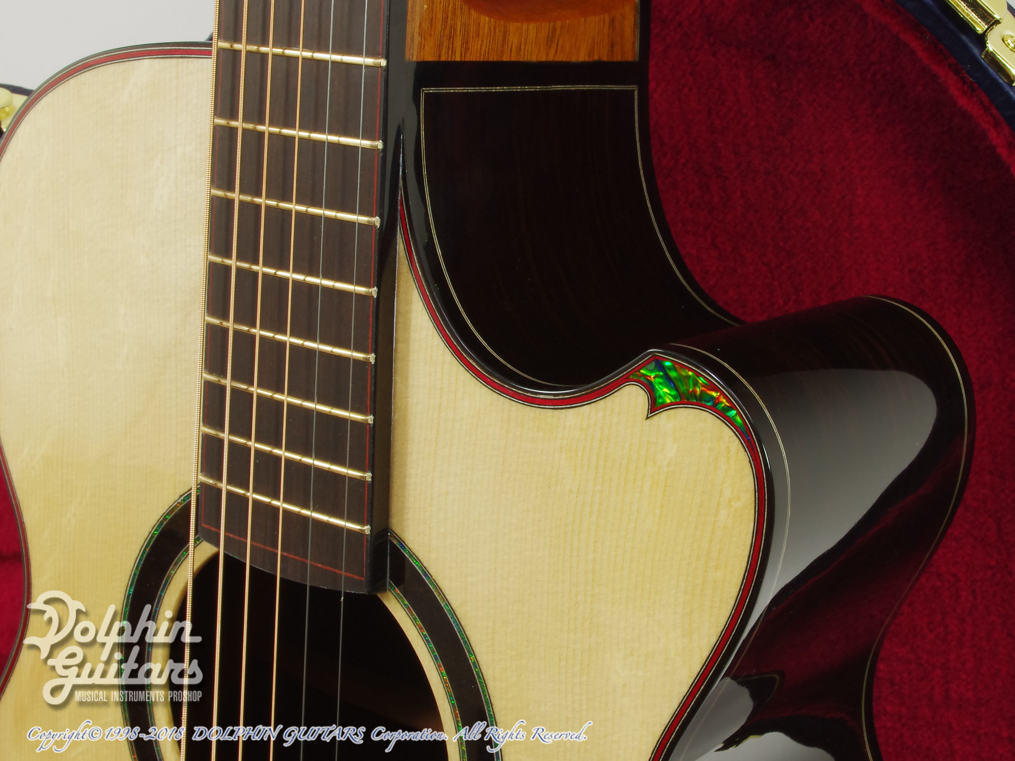 WATER ROAD GUITARS: Couchi (African Blackwood) (10)