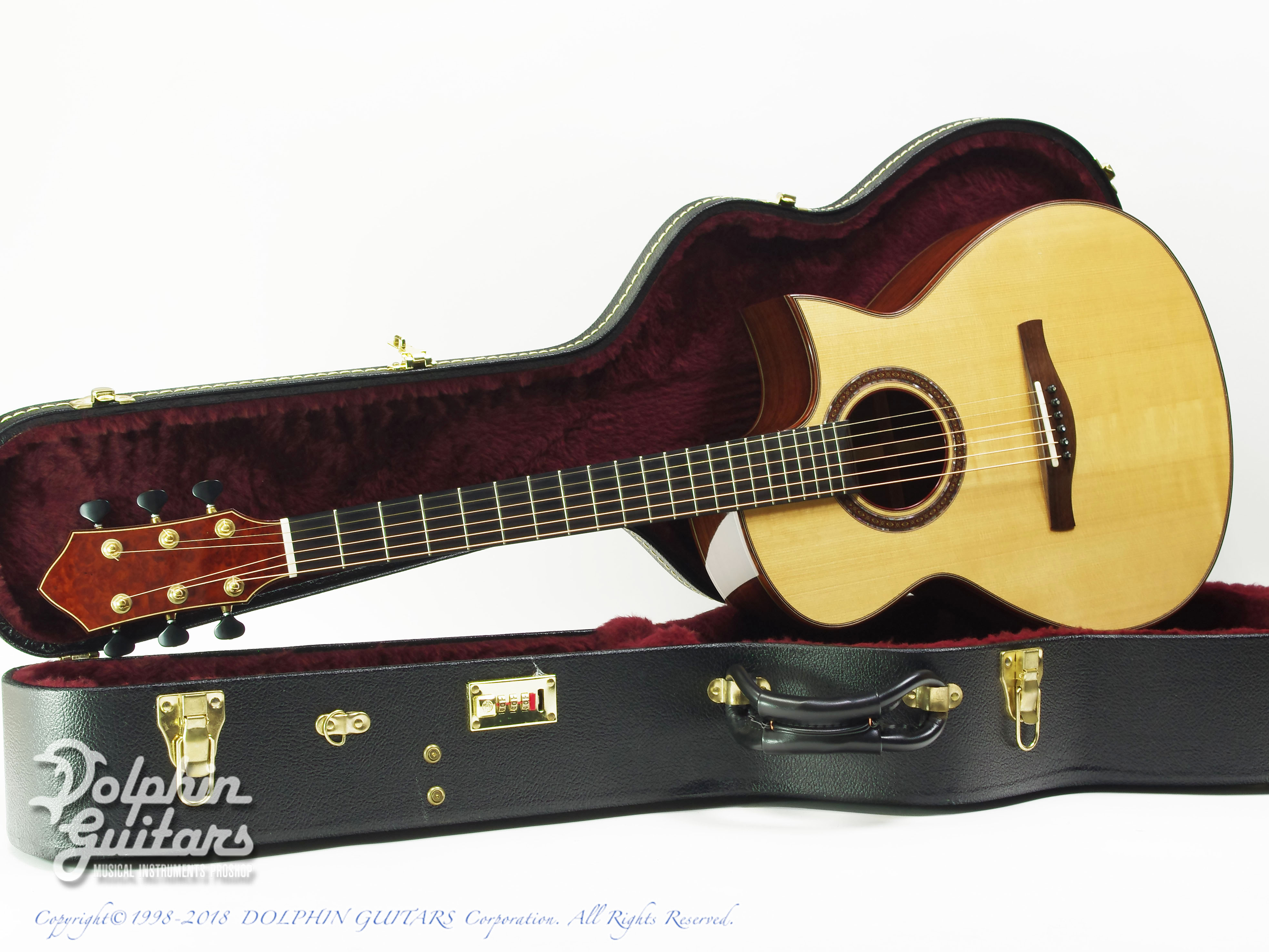 IKKO MASADA: Model C Cutaway (German Spruce & Indian Rosewood) (0)