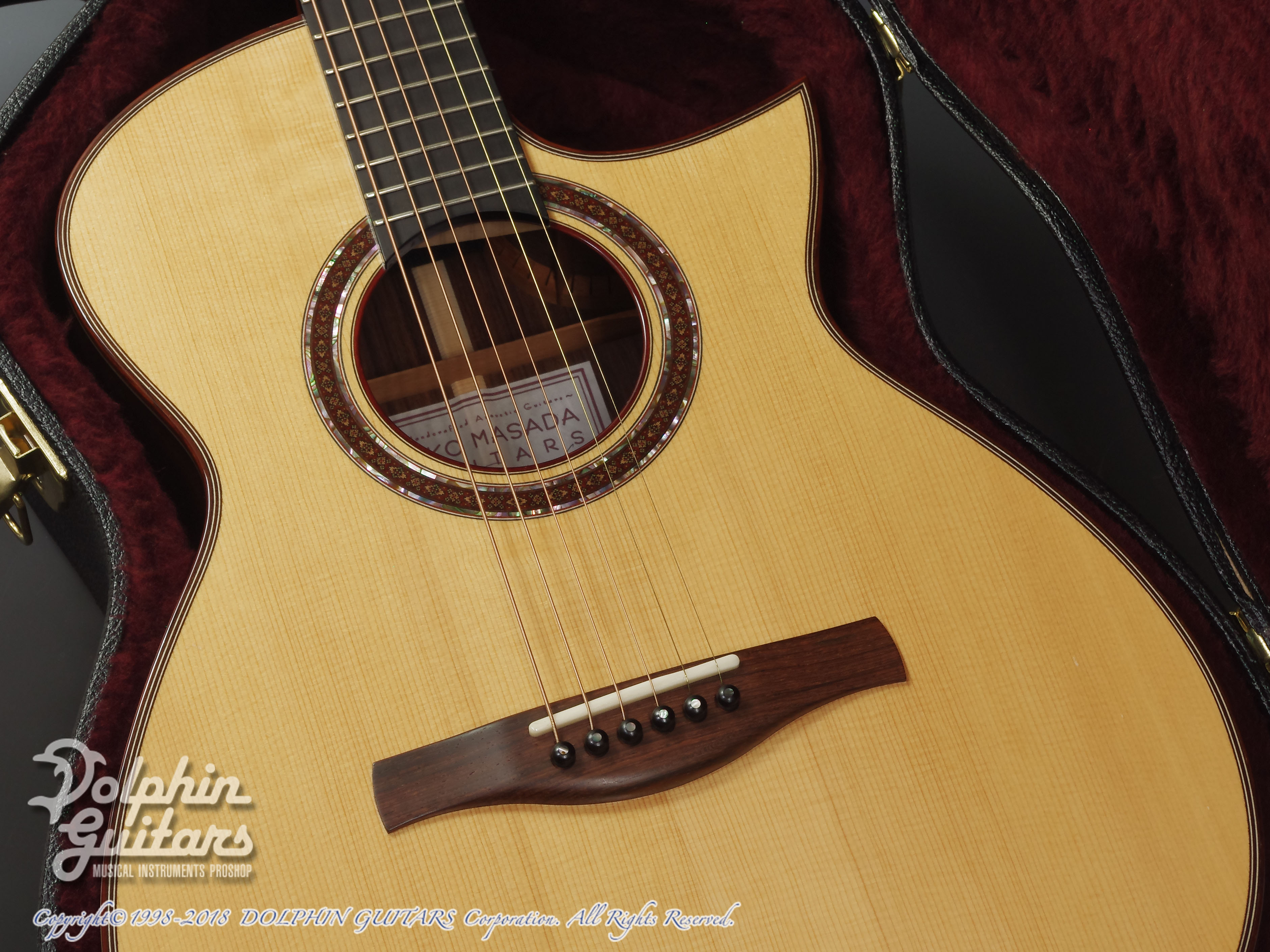 IKKO MASADA: Model C Cutaway (German Spruce & Indian Rosewood) (8)