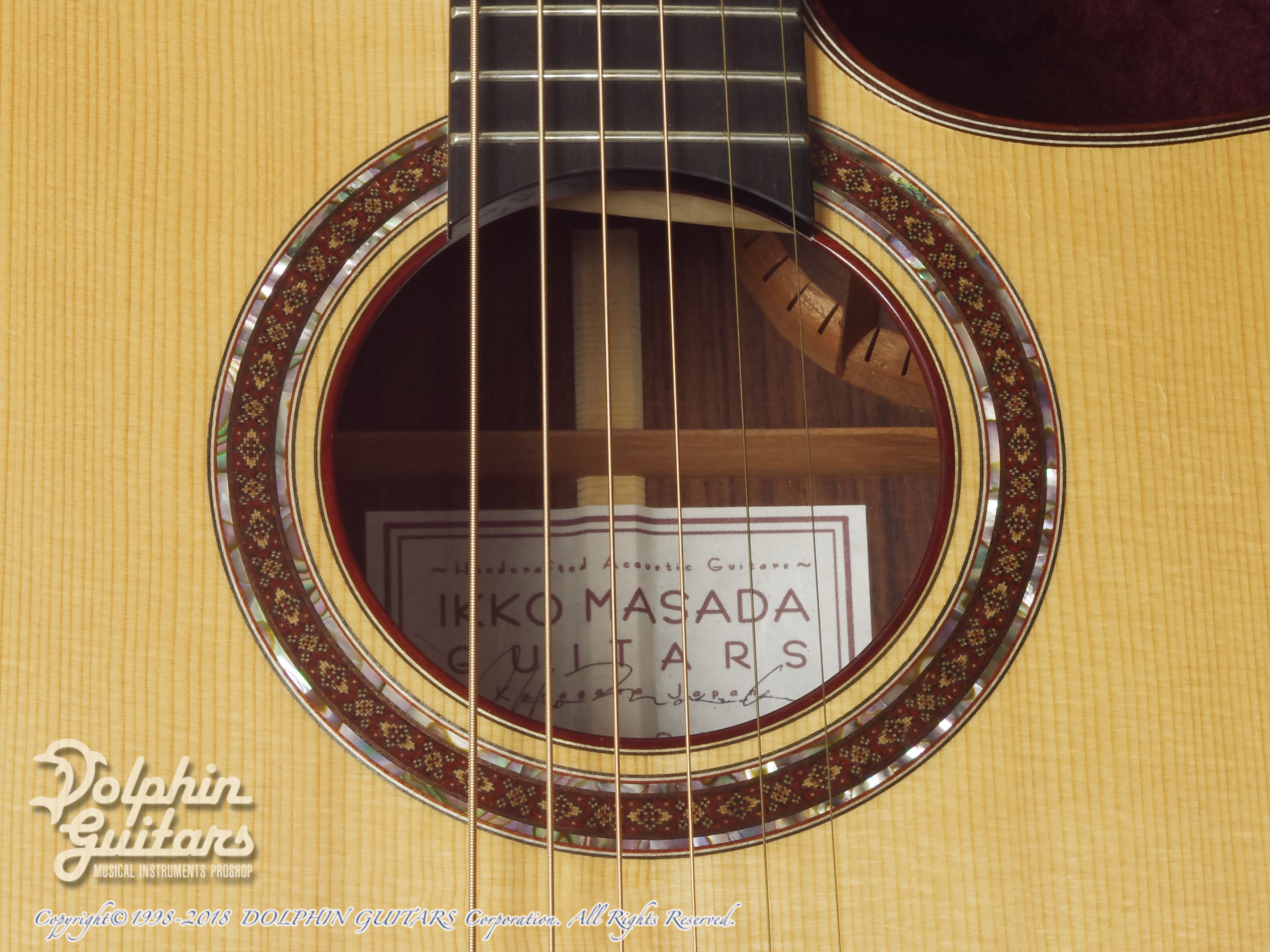 IKKO MASADA: Model C Cutaway (German Spruce & Indian Rosewood) (9)