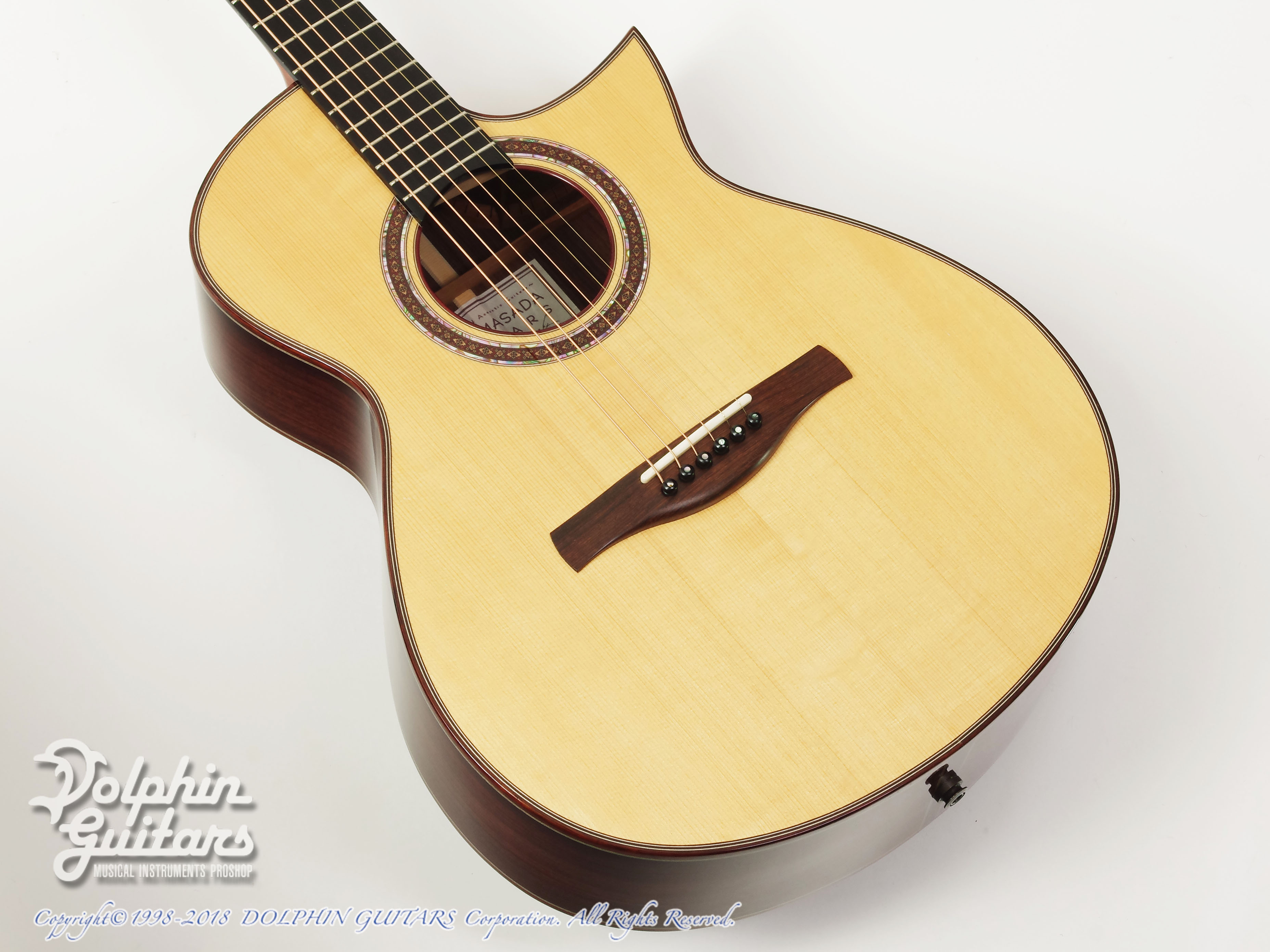 IKKO MASADA: Model C Cutaway (German Spruce & Indian Rosewood) (1)