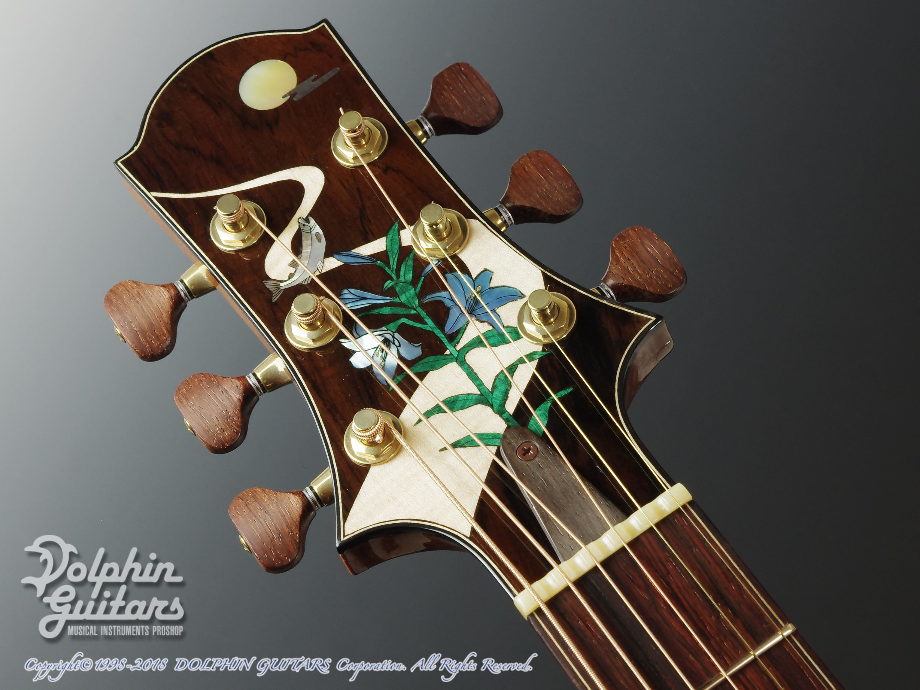 WATER ROAD GUITARS: Deep Arte (Brazilian Rosewood) (6)