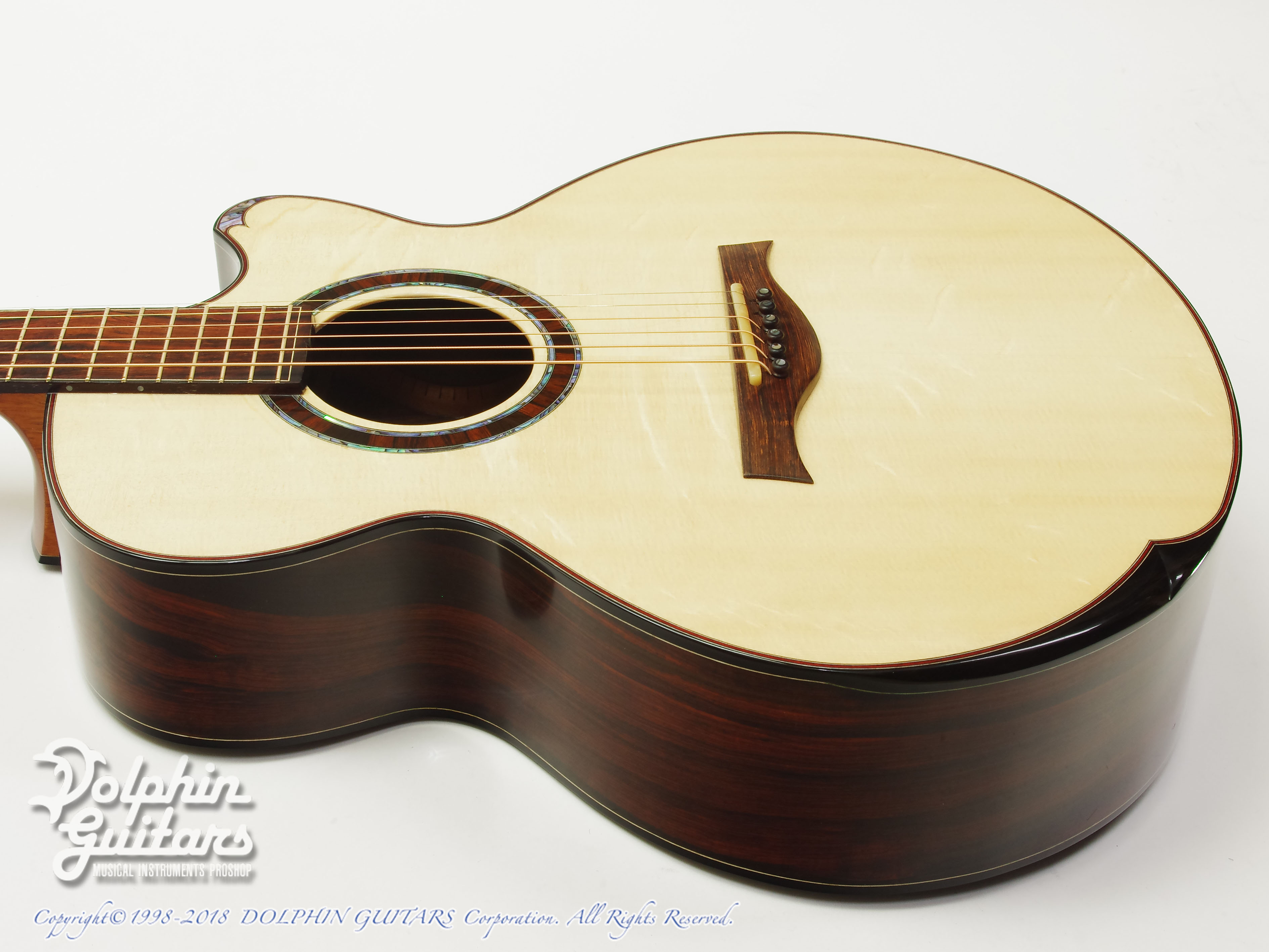 WATER ROAD GUITARS: Deep Arte (Brazilian Rosewood) (2)