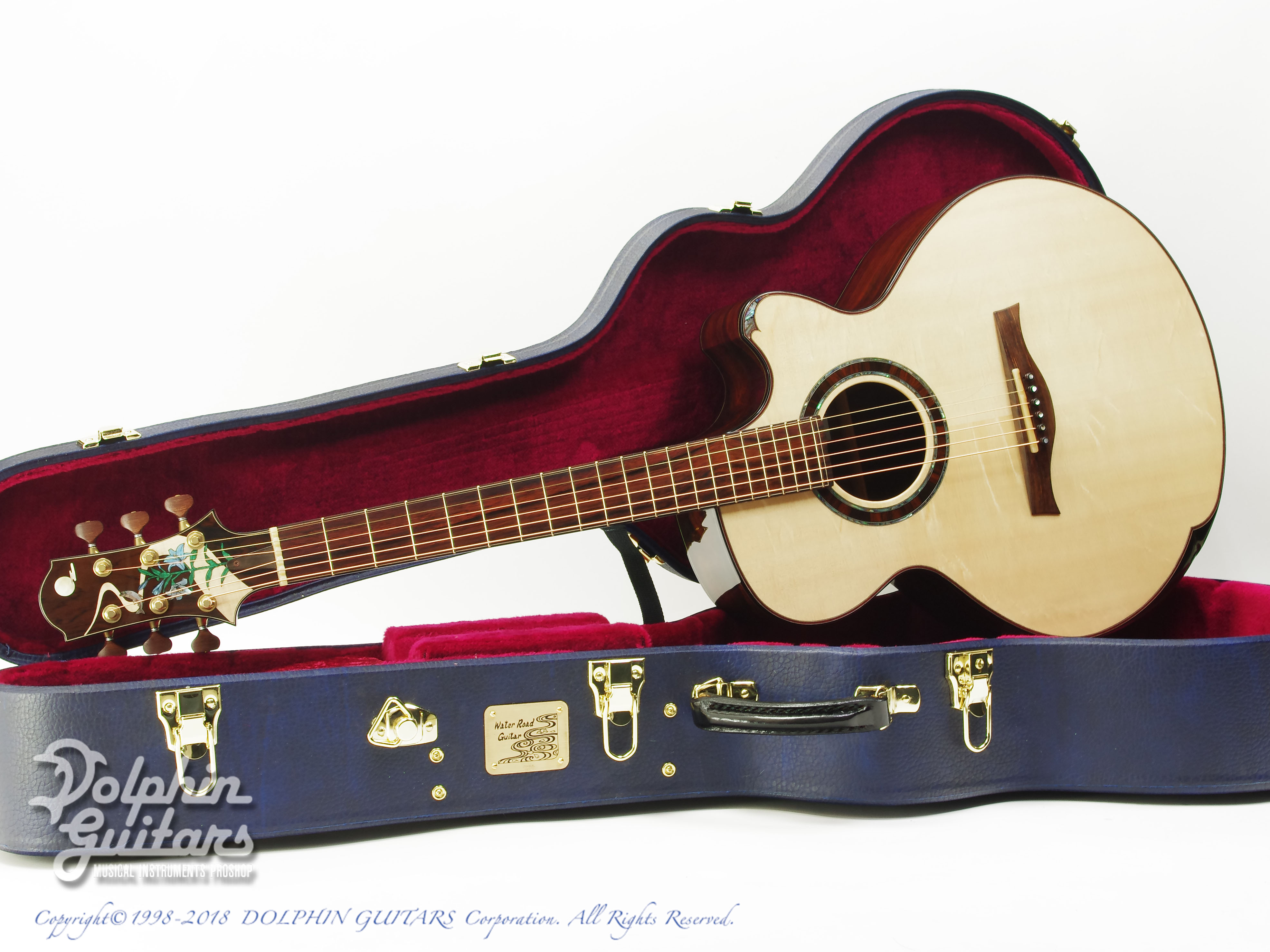 WATER ROAD GUITARS: Deep Arte (Brazilian Rosewood) (0)