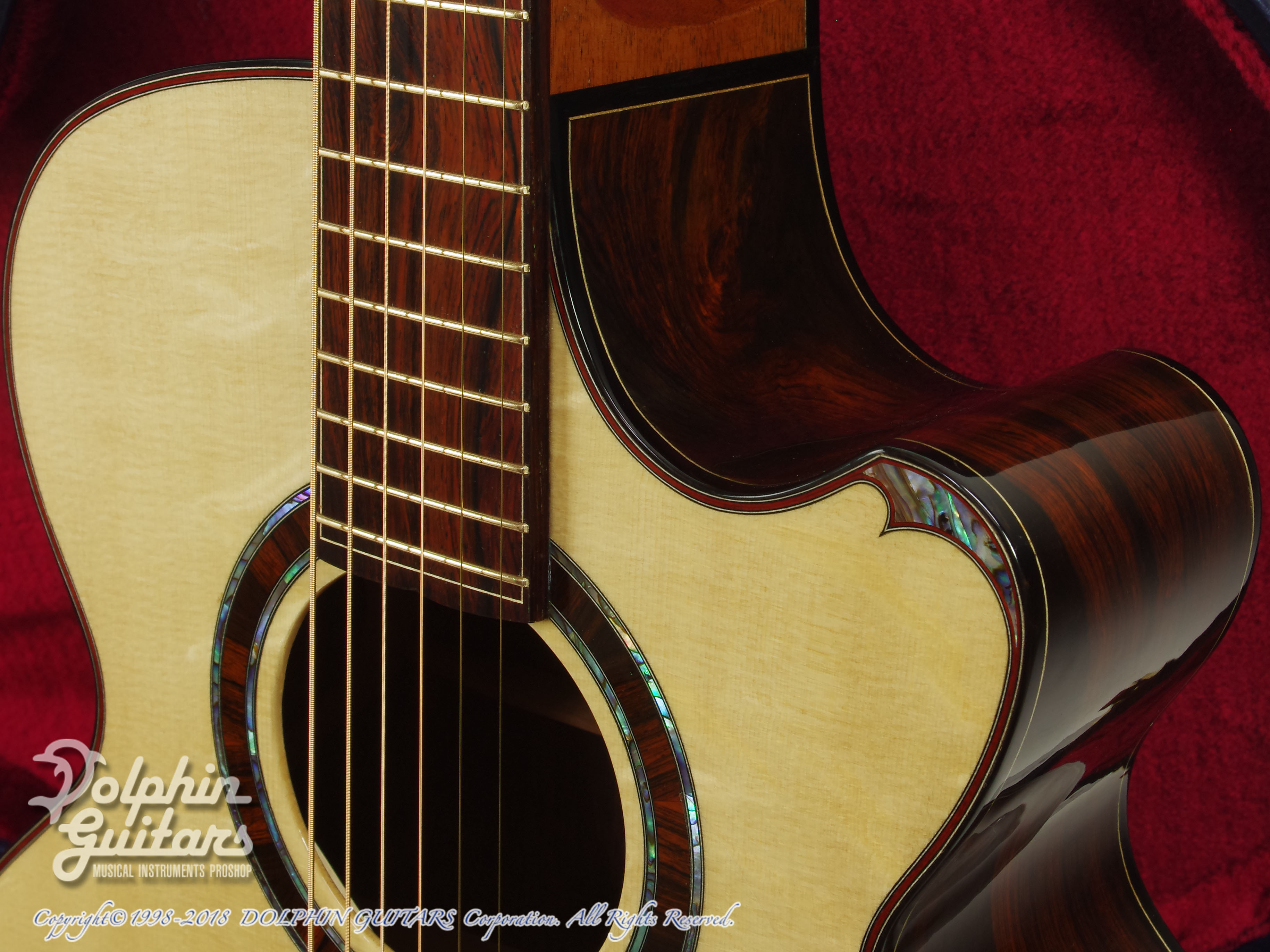 WATER ROAD GUITARS: Deep Arte (Brazilian Rosewood) (10)