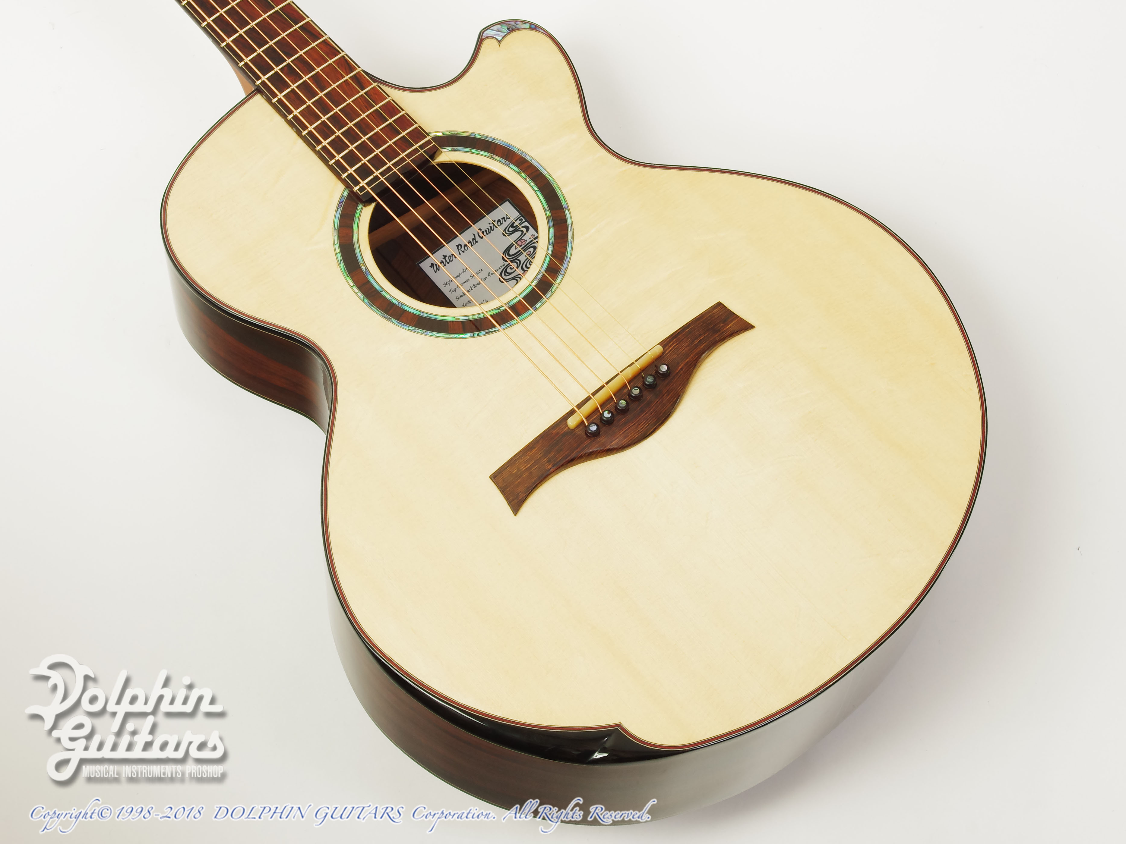 WATER ROAD GUITARS: Deep Arte (Brazilian Rosewood) (1)