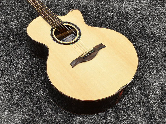 WATER ROAD GUITARS: Deep Arte Custom (Jacaranda)  (1)