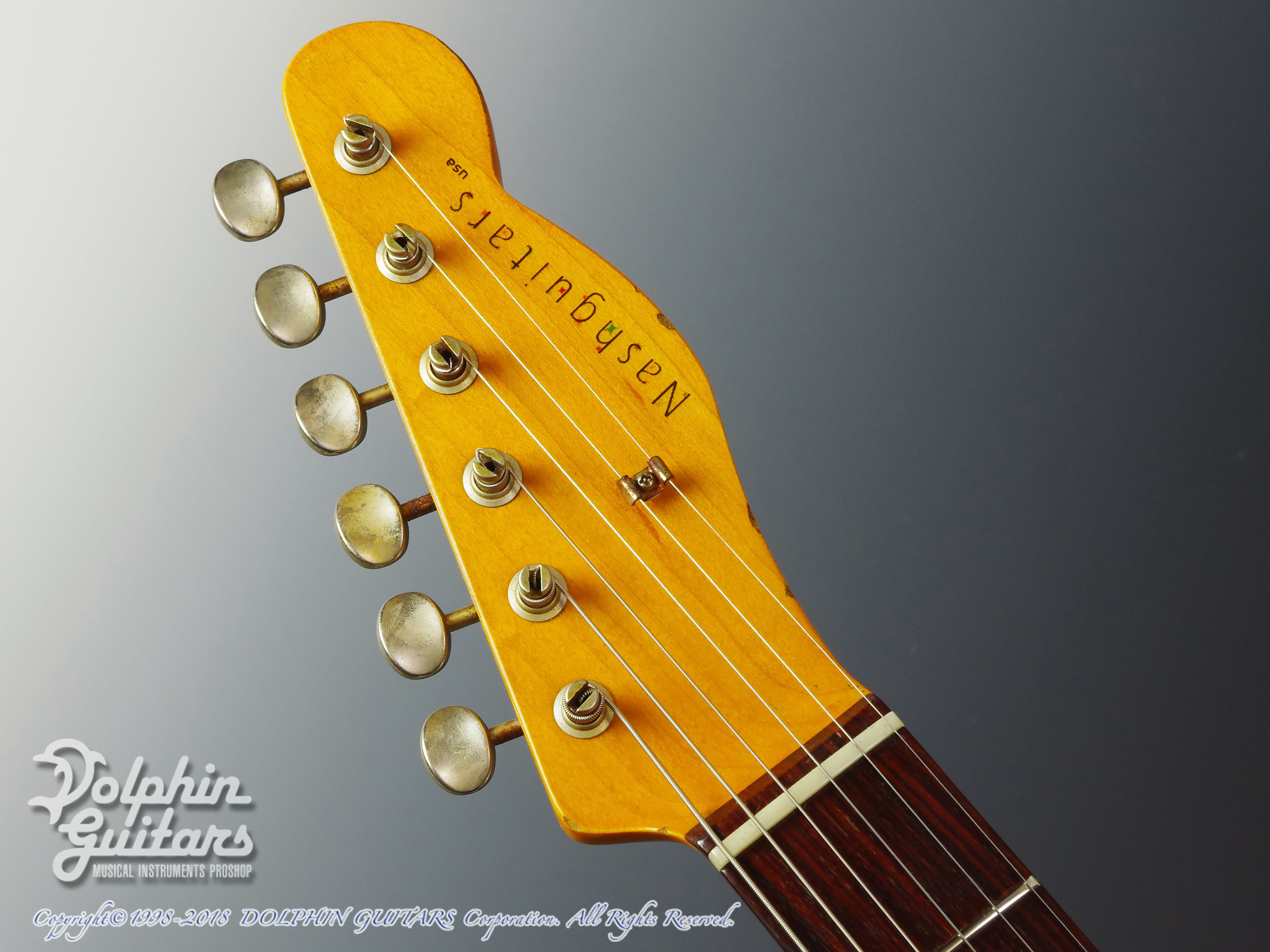 NASH GUITARS: T-63 (with Back Contour) (6)