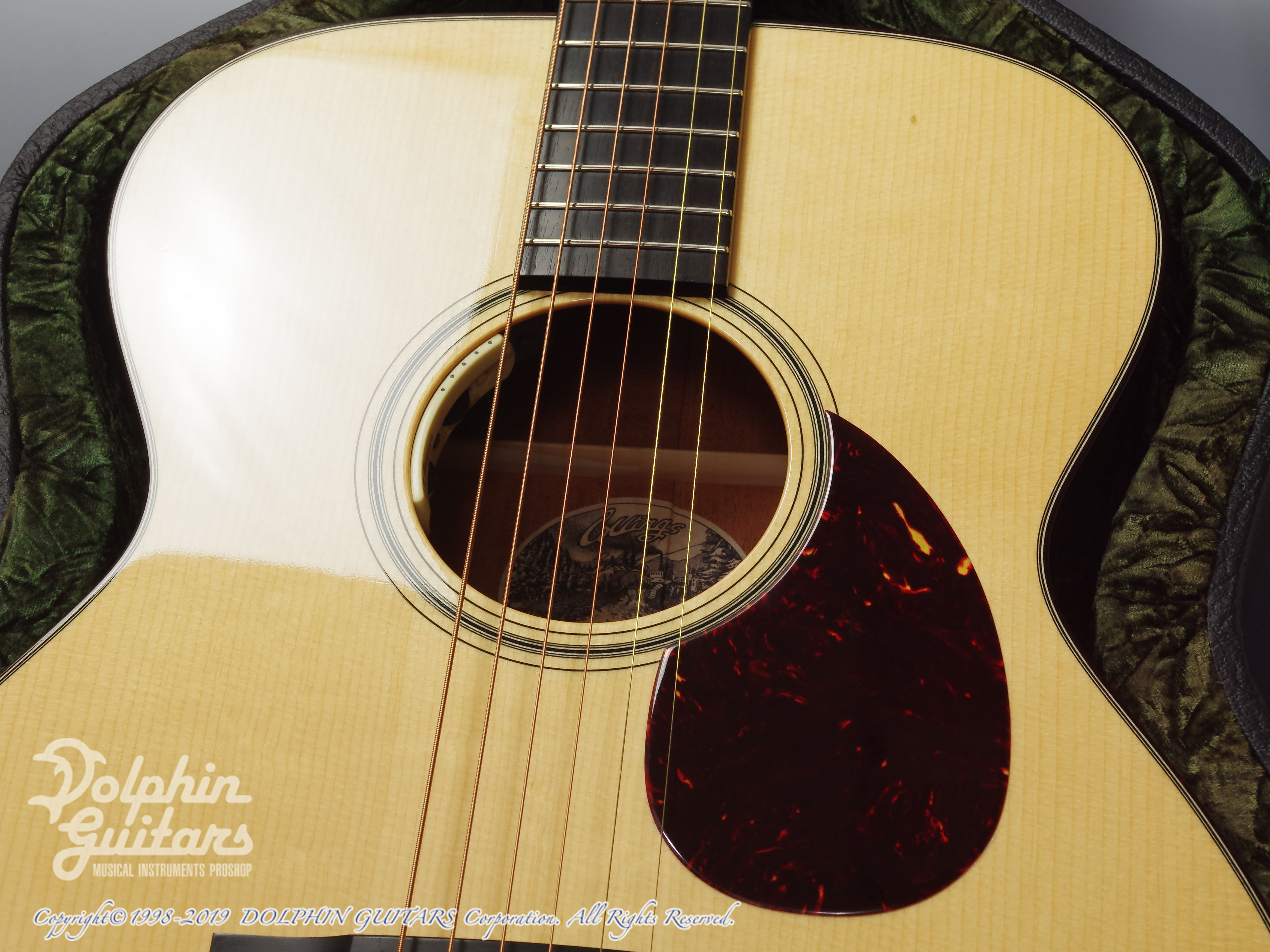 COLLINGS: OM-1A (Adirondack Spruce) (10)