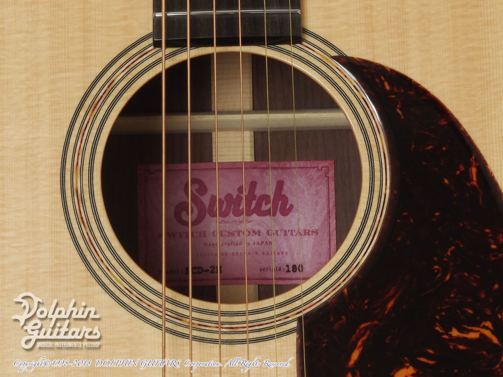 SWITCH: SCD-2H (Sitka Spruce & Indian Rosewood) (8)