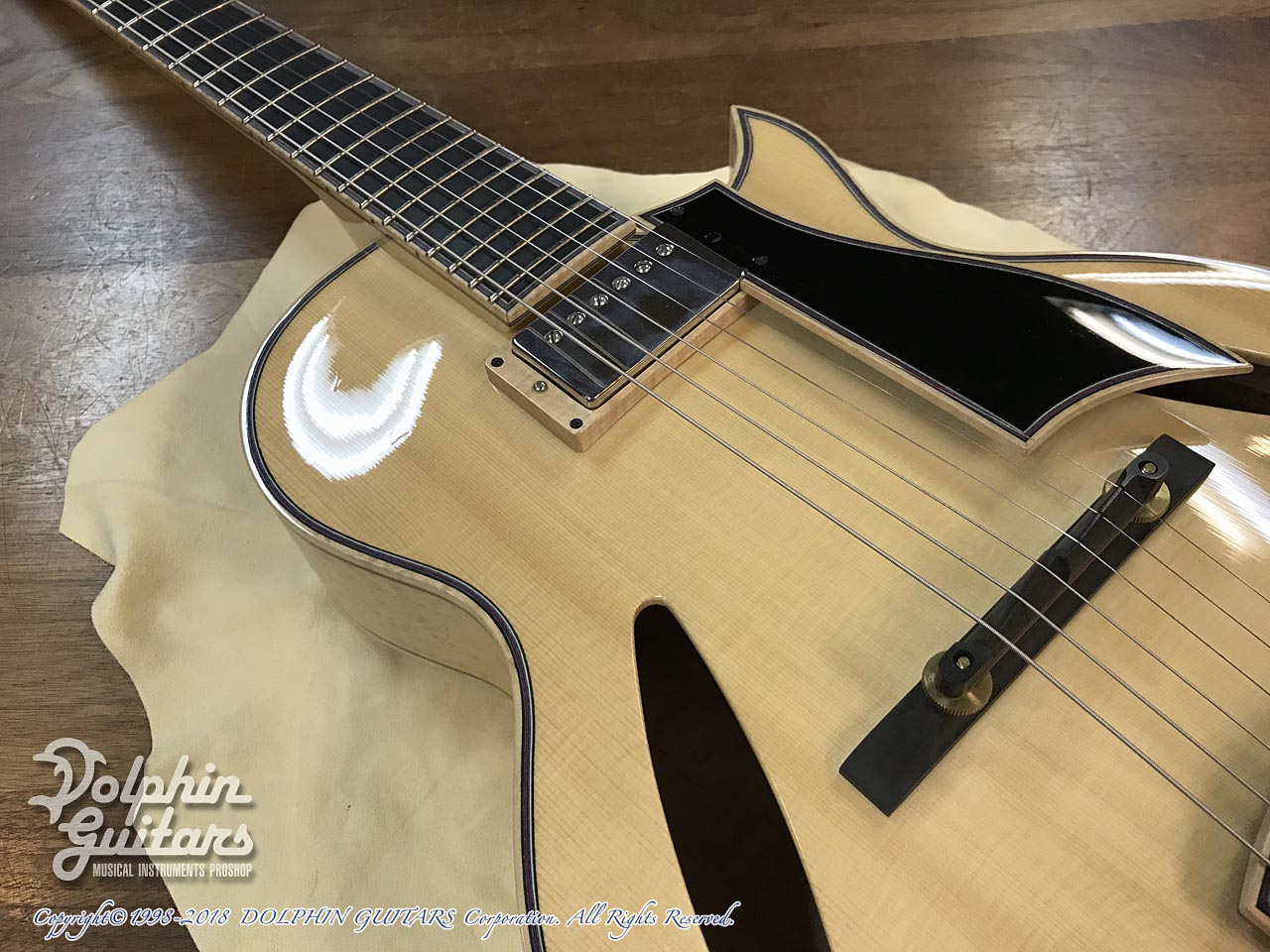 "SAITO GUITARS: 13.5"" M35 Custom (Natural) (10)"