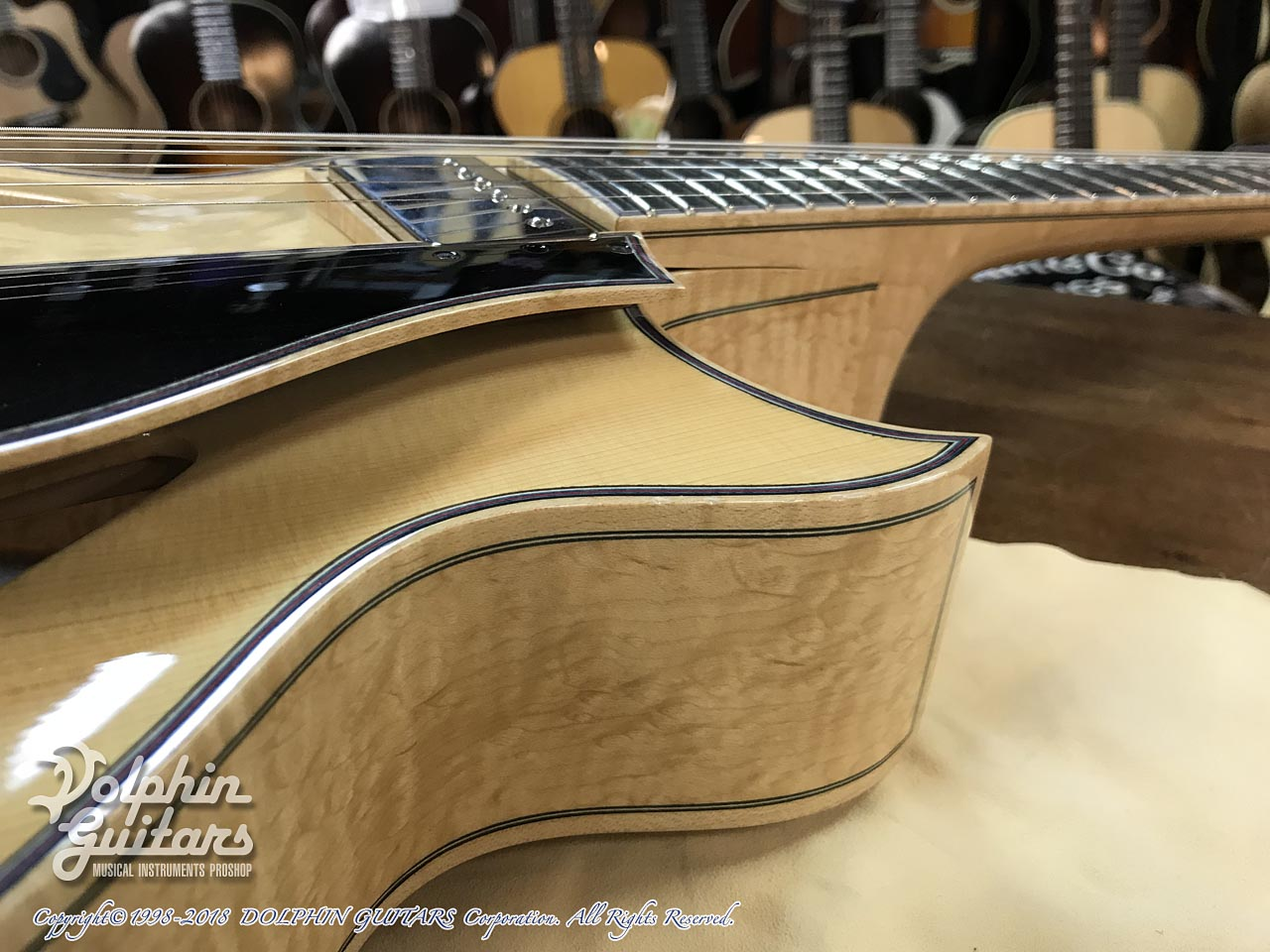 "SAITO GUITARS: 13.5"" M35 Custom (Natural) (11)"