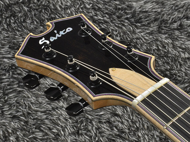 "SAITO GUITARS: 13.5"" M35 Custom (Natural) (6)"