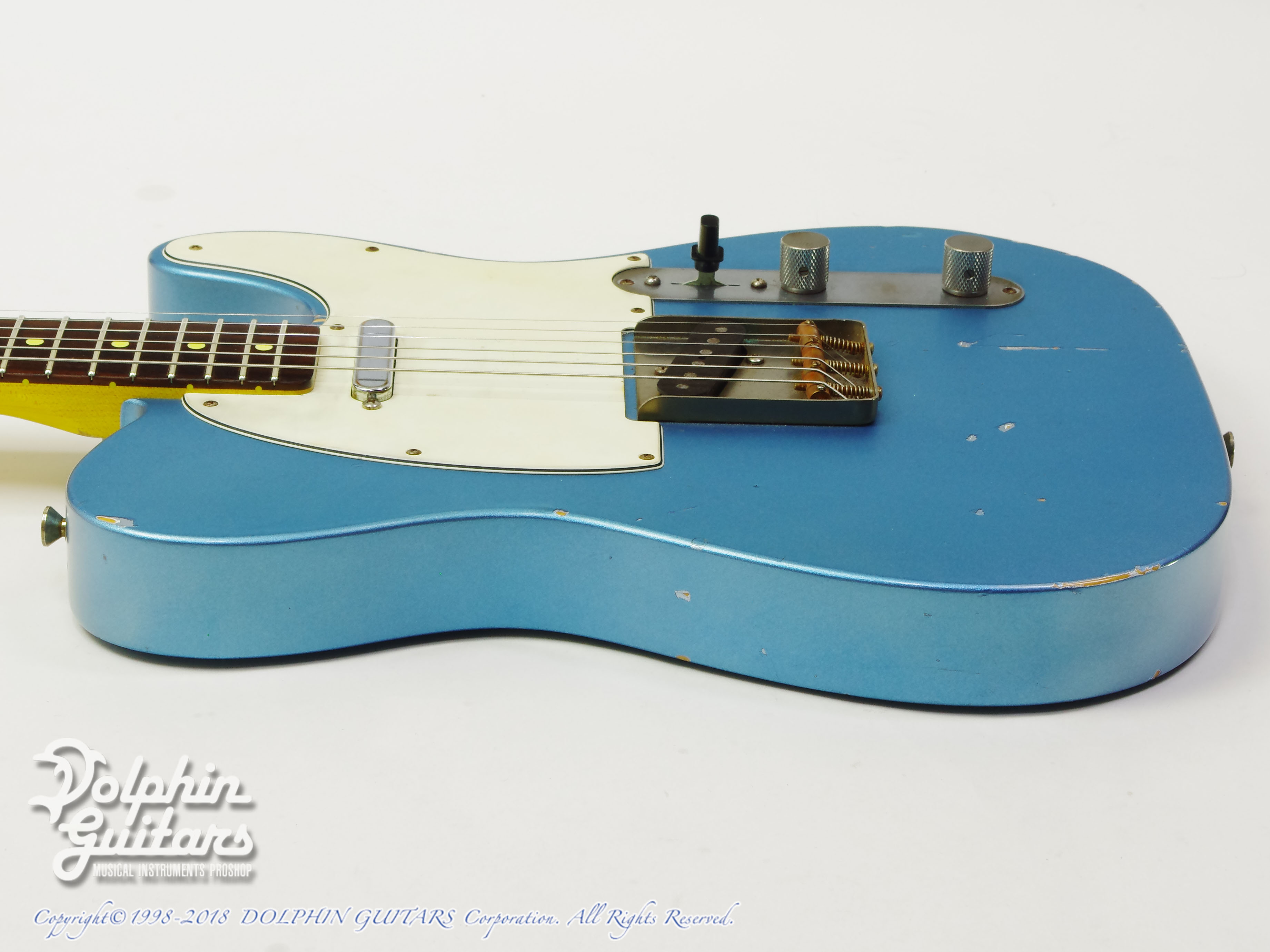 NASH GUITARS: T-63 (Ice Blue Metalic) (2)