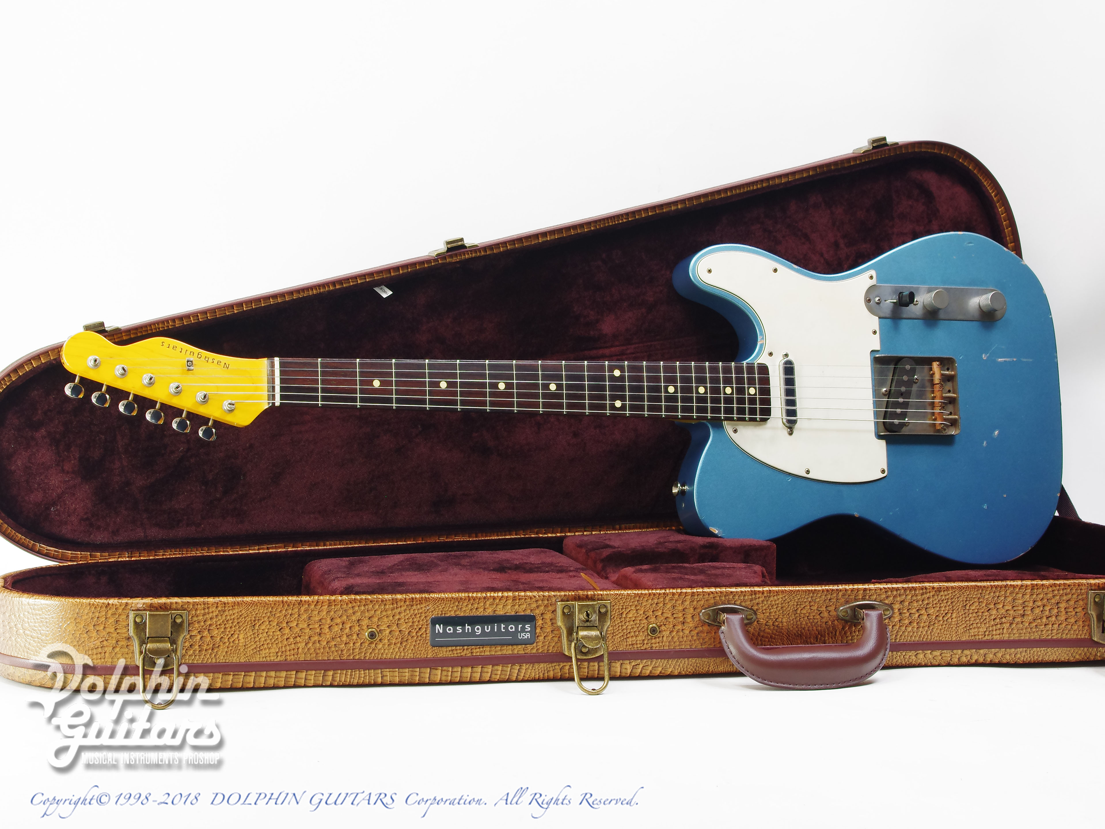 NASH GUITARS: T-63 (Ice Blue Metalic) (0)