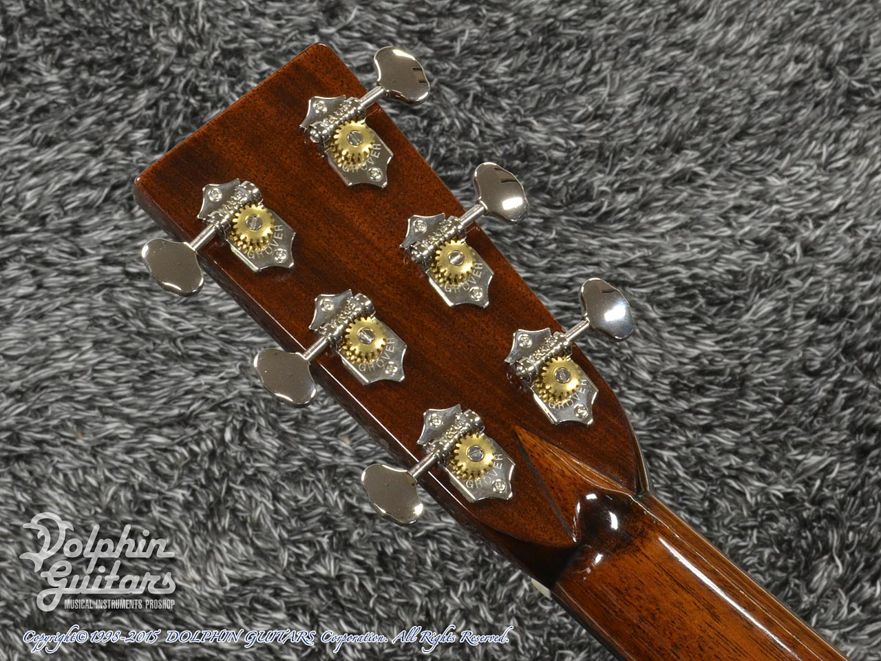 NASHVILLE GUITAR CO.: D Style <Indian Rosewood> (7)