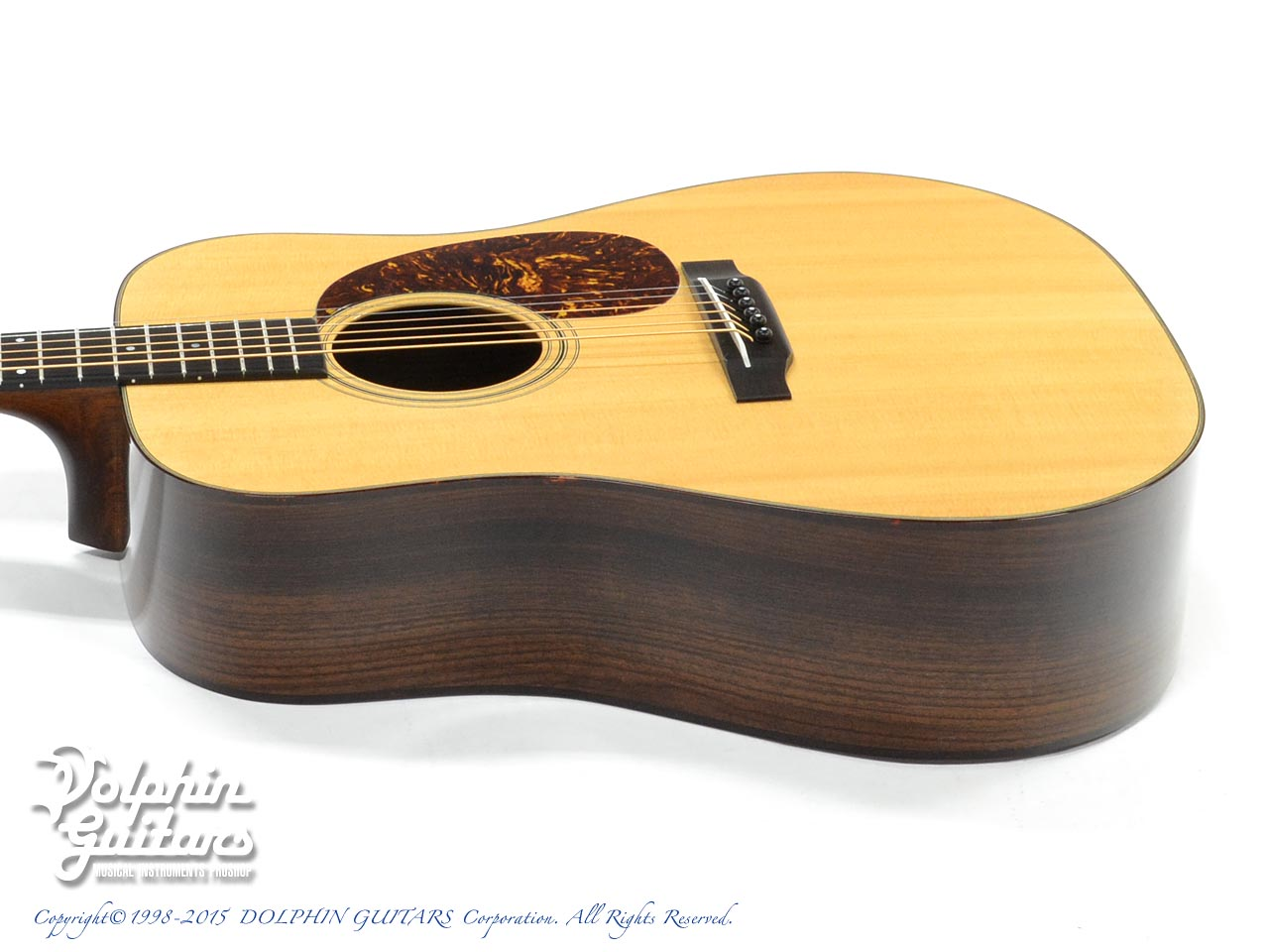 NASHVILLE GUITAR CO.: D Style <Indian Rosewood> (2)