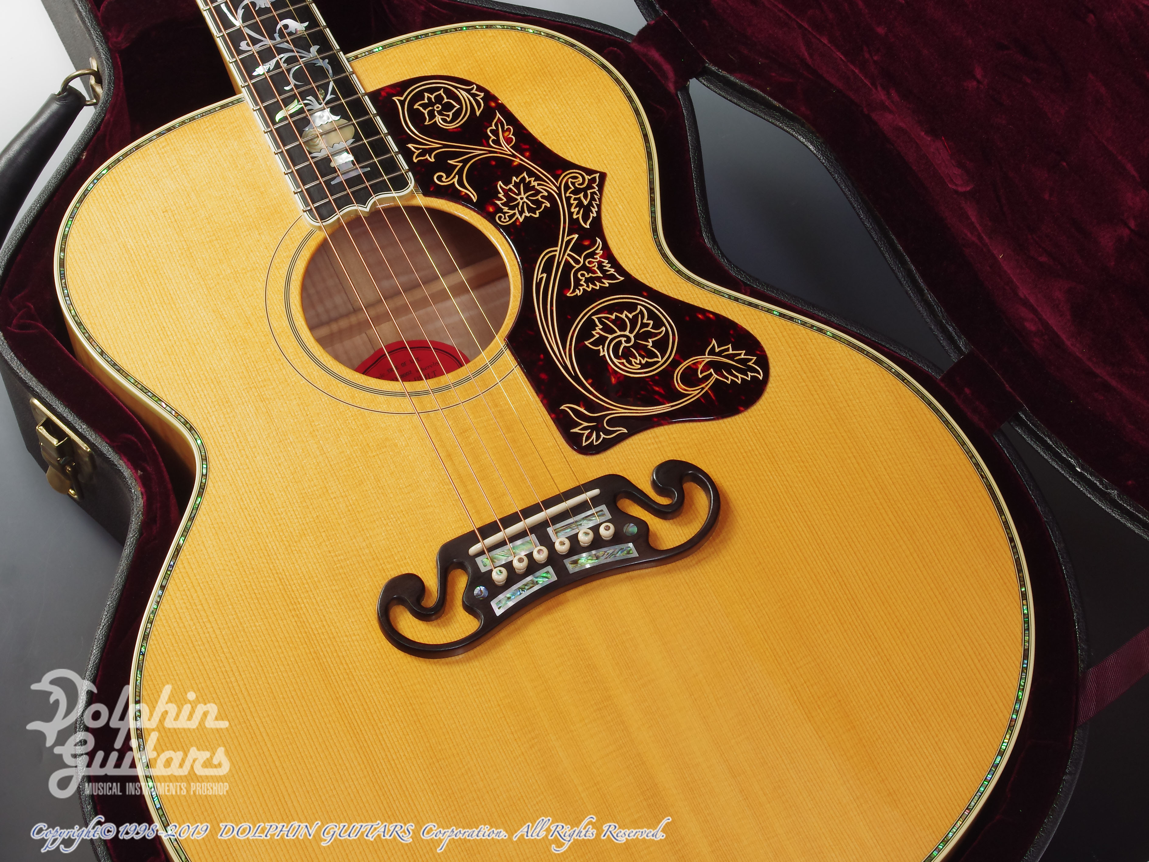 "Gibson: J-200 ""Tree Of Life"" (8)"