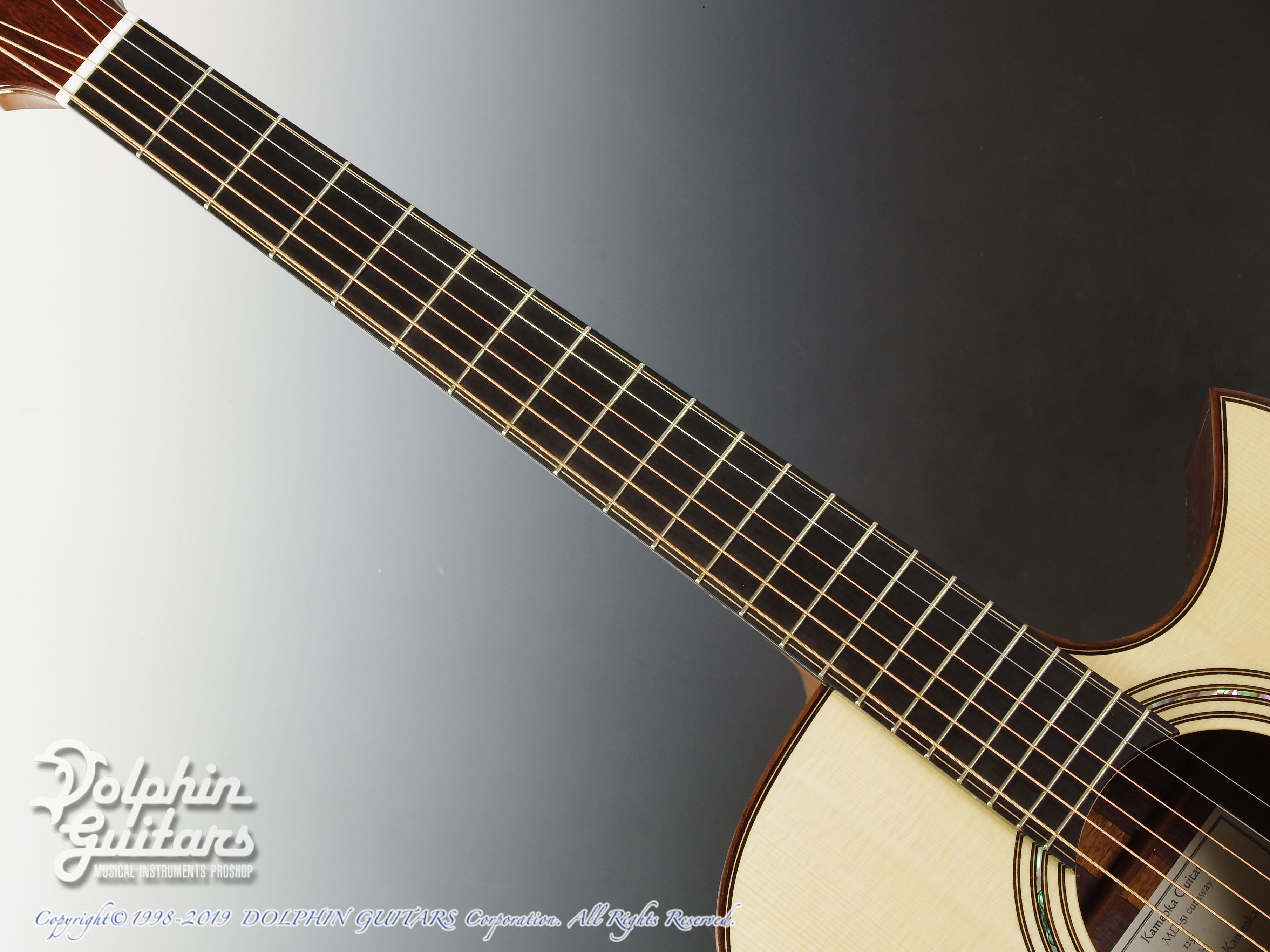 KAMEOKA: MD-51 Cutaway  (German Spruce & Granadillo) (4)