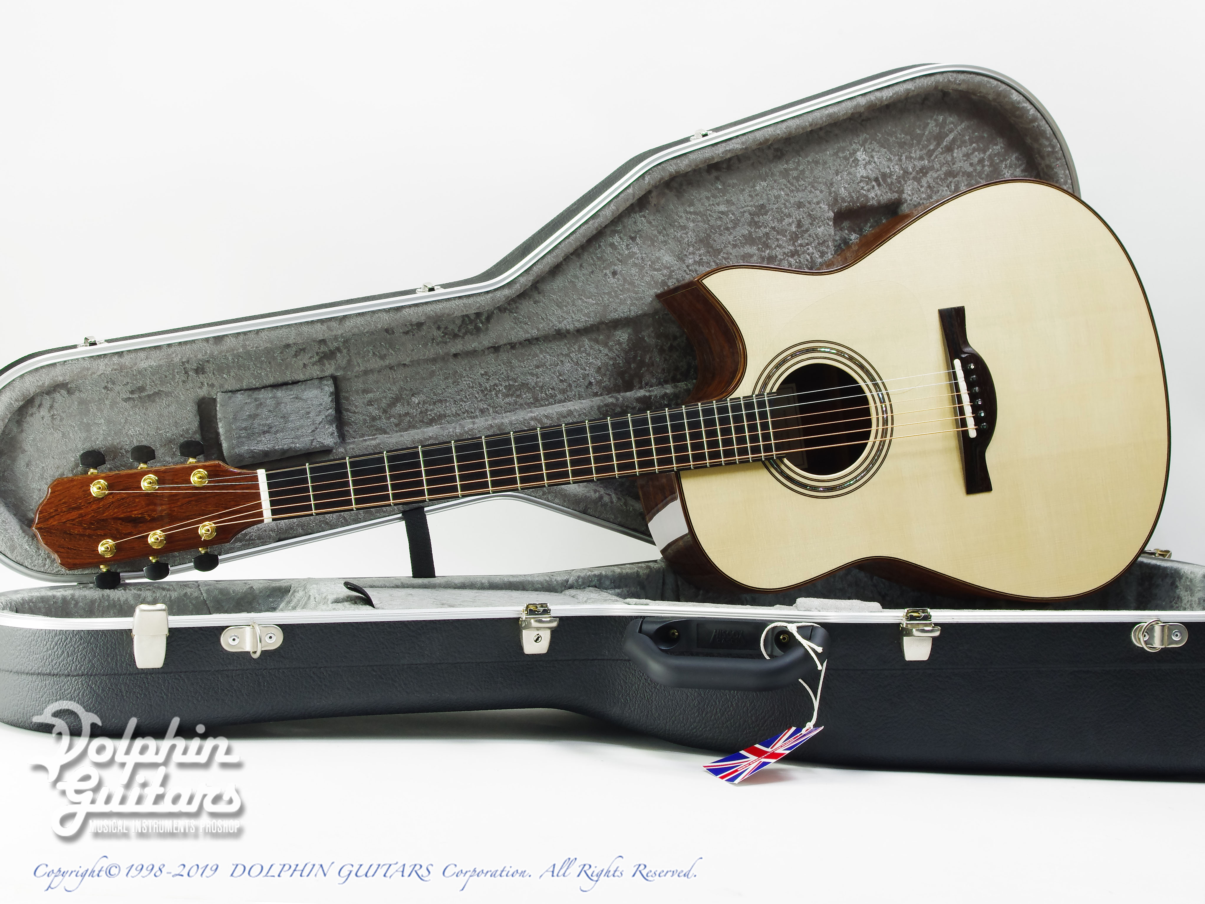 KAMEOKA: MD-51 Cutaway  (German Spruce & Granadillo) (0)