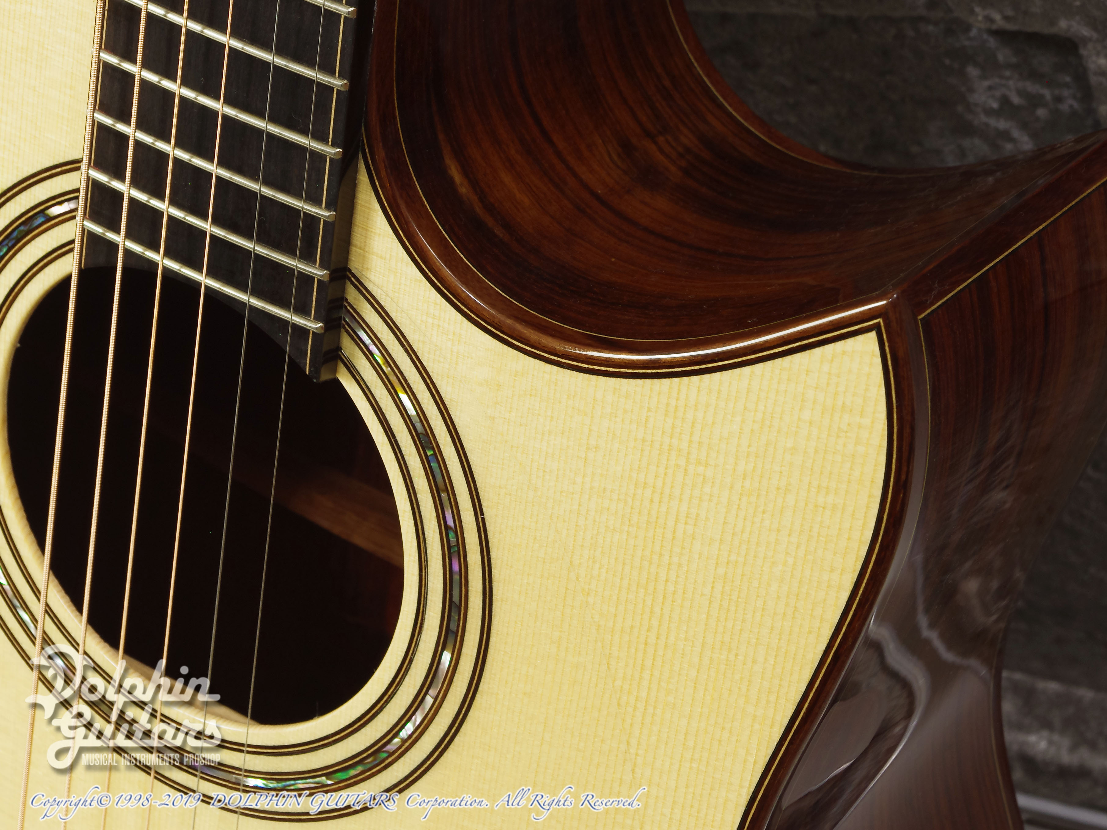 KAMEOKA: MD-51 Cutaway  (German Spruce & Granadillo) (11)