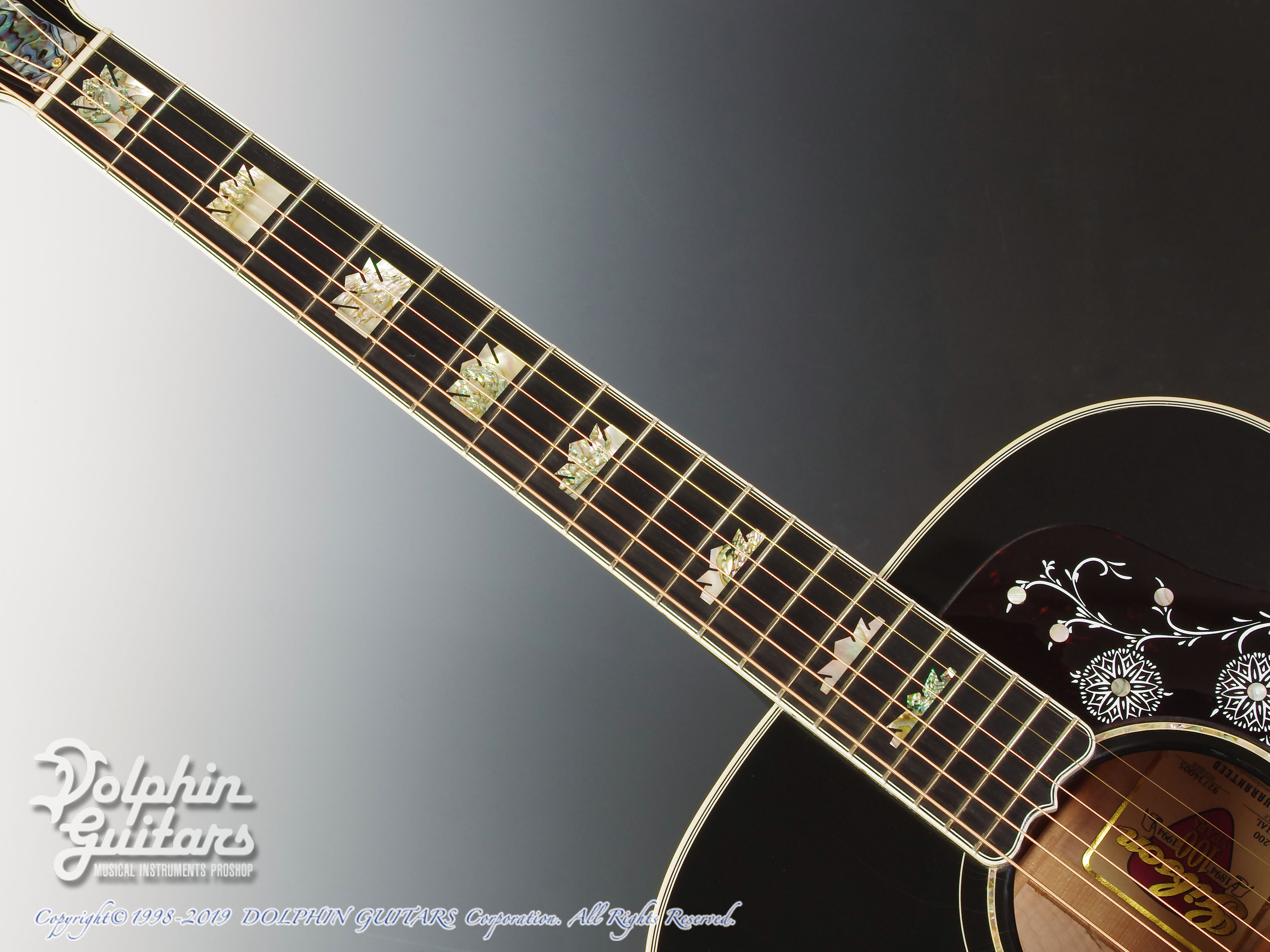 Gibson: J-200 Special 100th Annivarsary (Ebony Black) (4)
