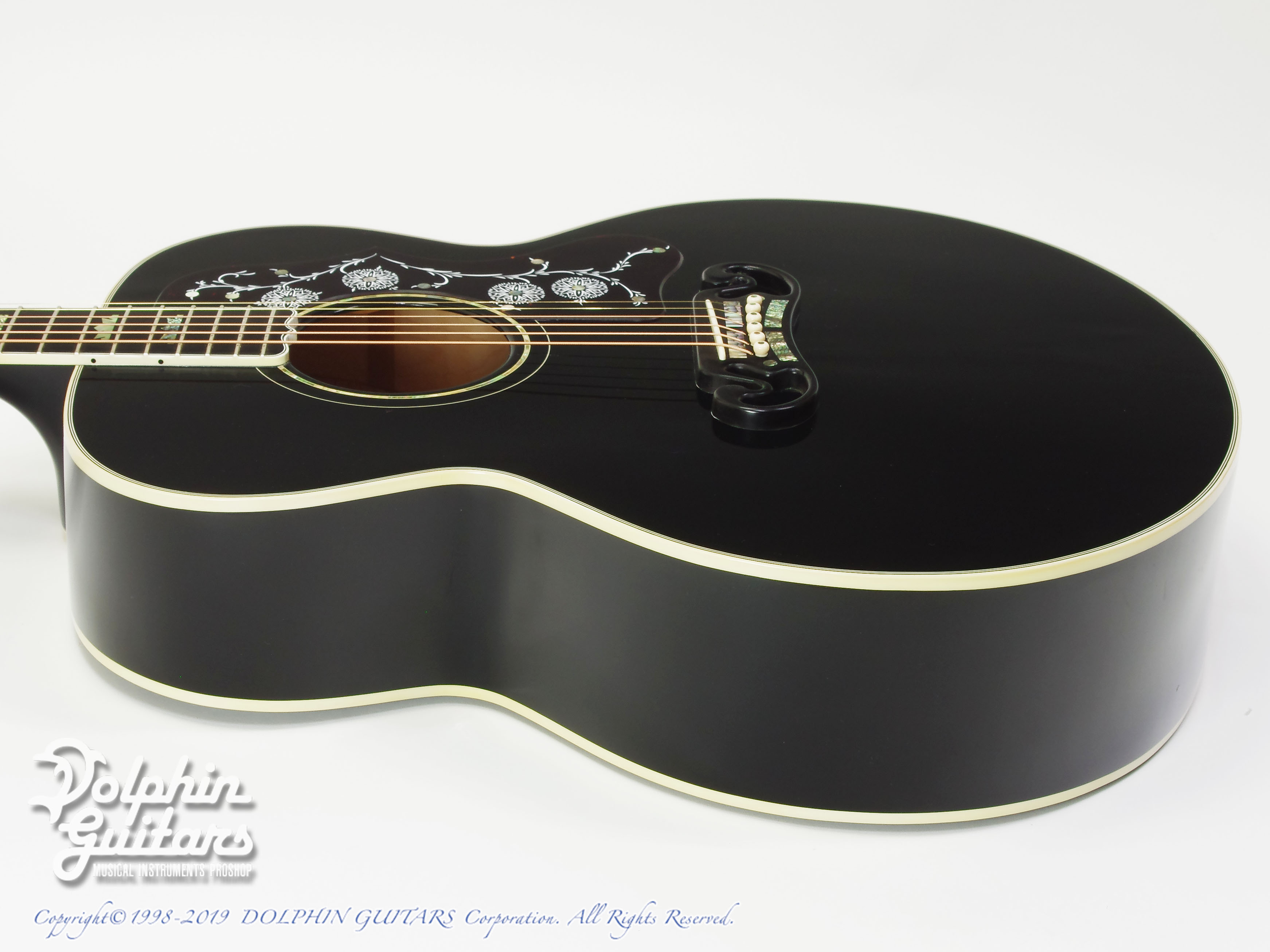 Gibson: J-200 Special 100th Annivarsary (Ebony Black) (2)