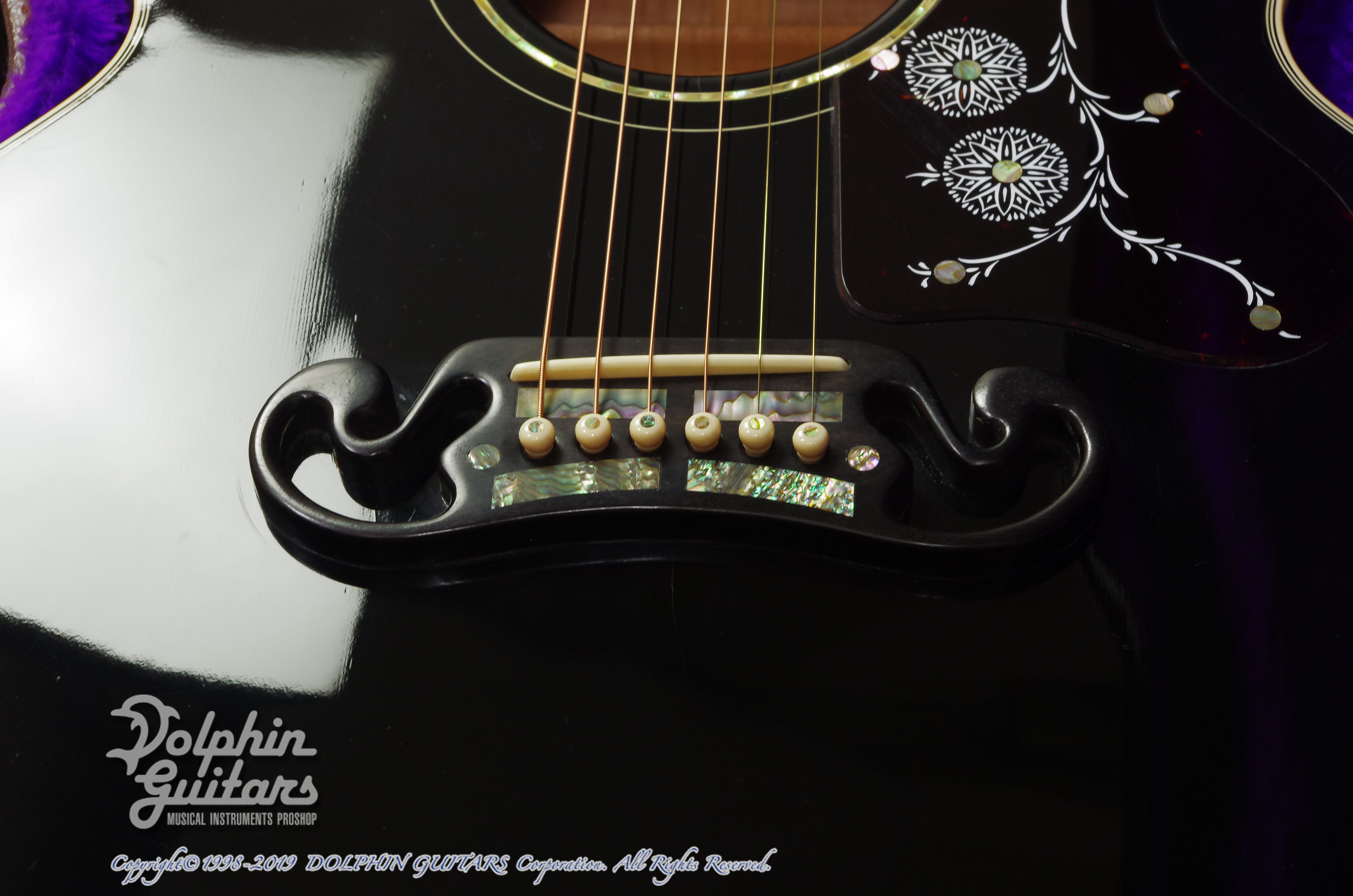 Gibson: J-200 Special 100th Annivarsary (Ebony Black) (9)
