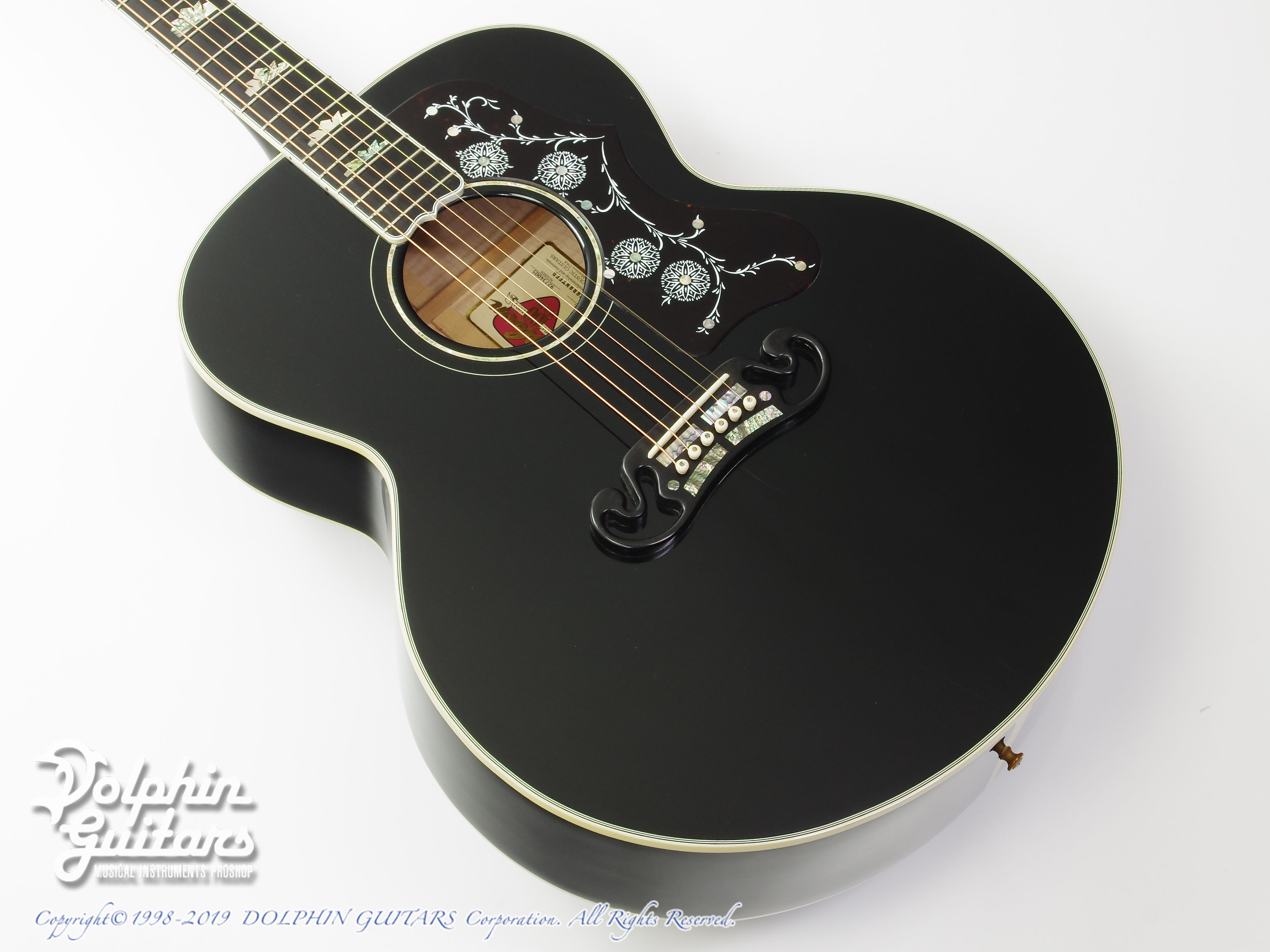 Gibson: J-200 Special 100th Annivarsary (Ebony Black) (1)